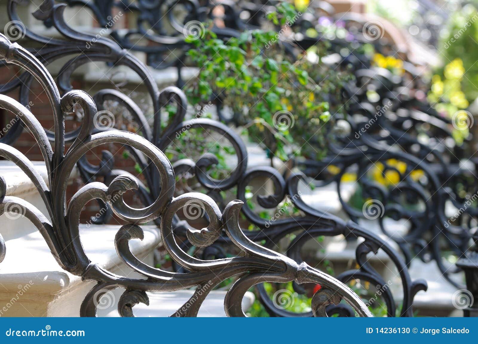 Ironwork Victorian Style