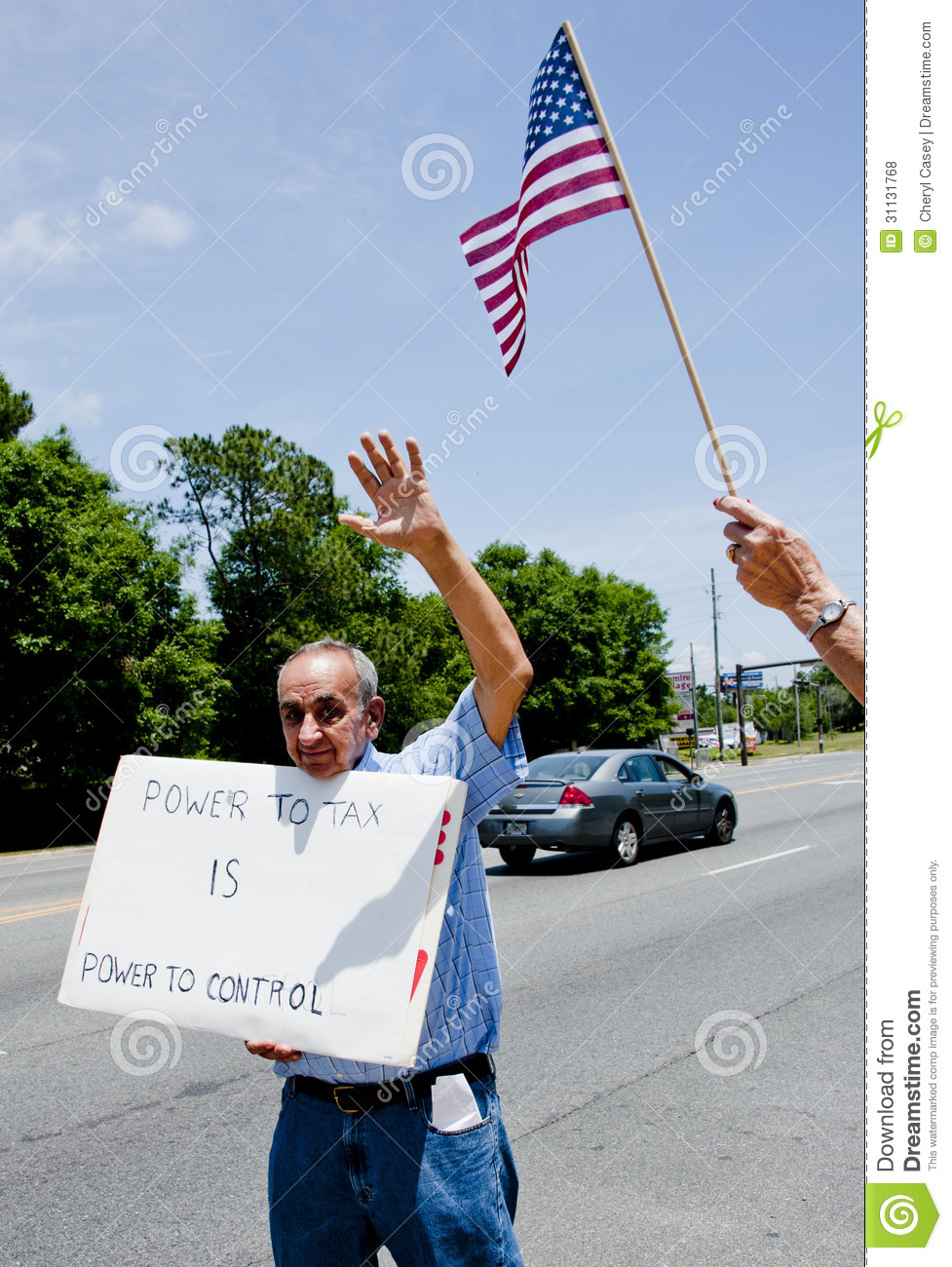 IRS Protest editorial stock photo  Image of march, federal