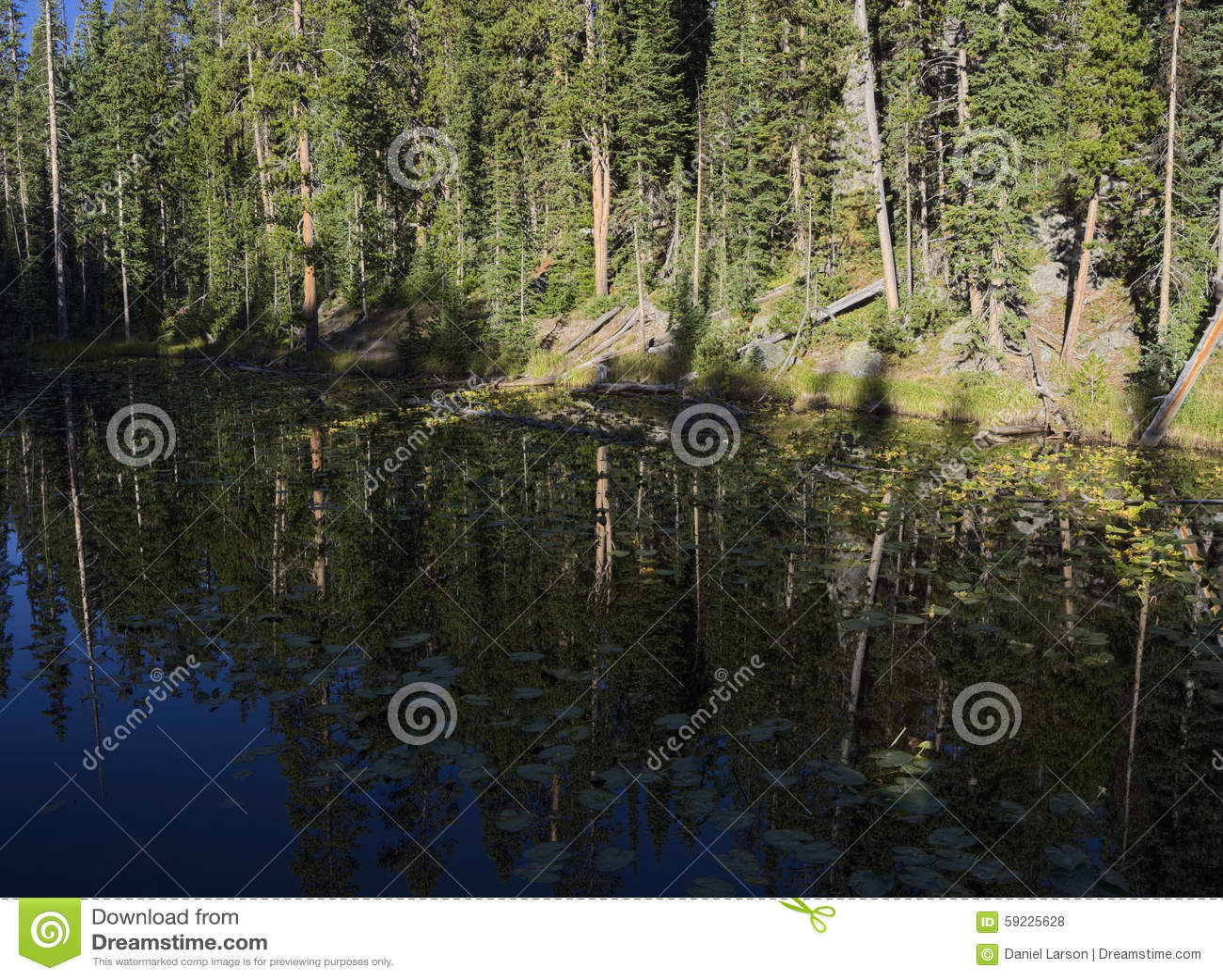 Download Isa Lake foto de archivo. Imagen de naturalizado, continental - 59225628