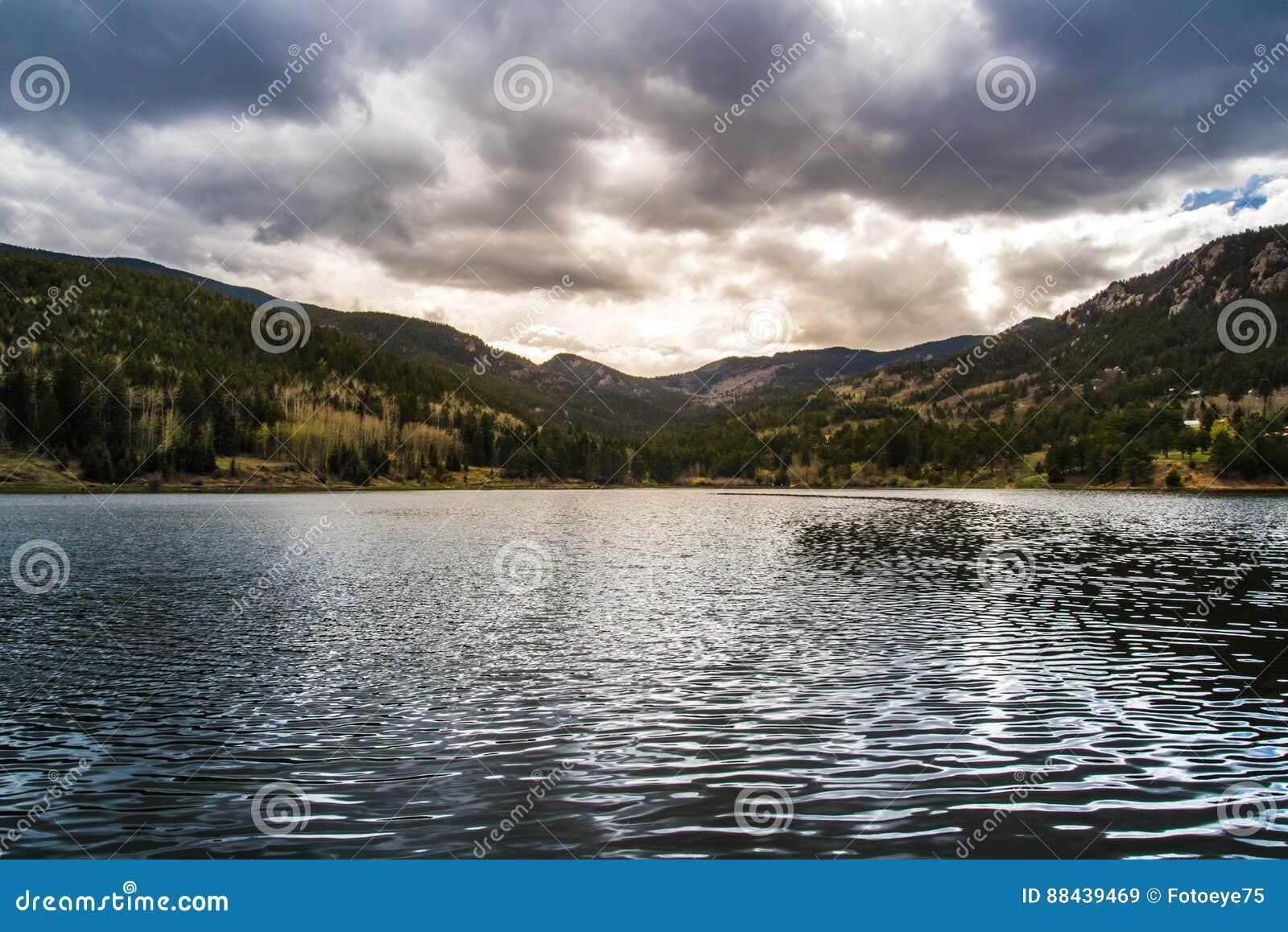 Isabel Lake Colorado Sunset