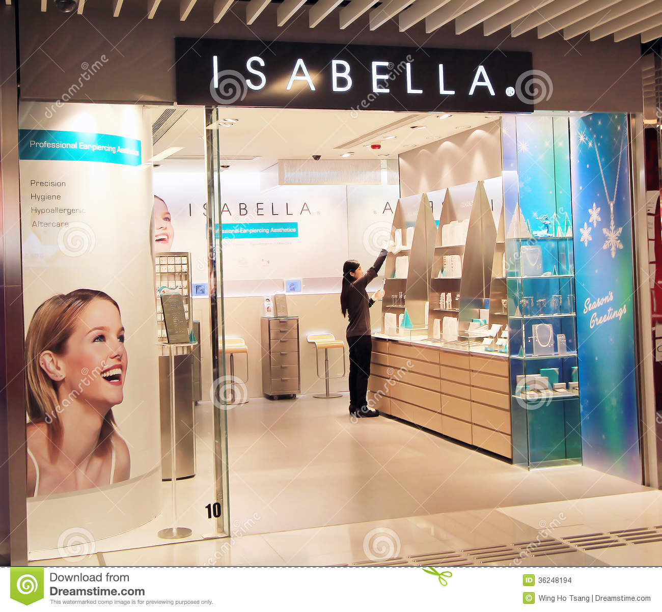 Hong Kong Shopping: Isabella Shop In Hong Kong Editorial Stock Image. Image Of