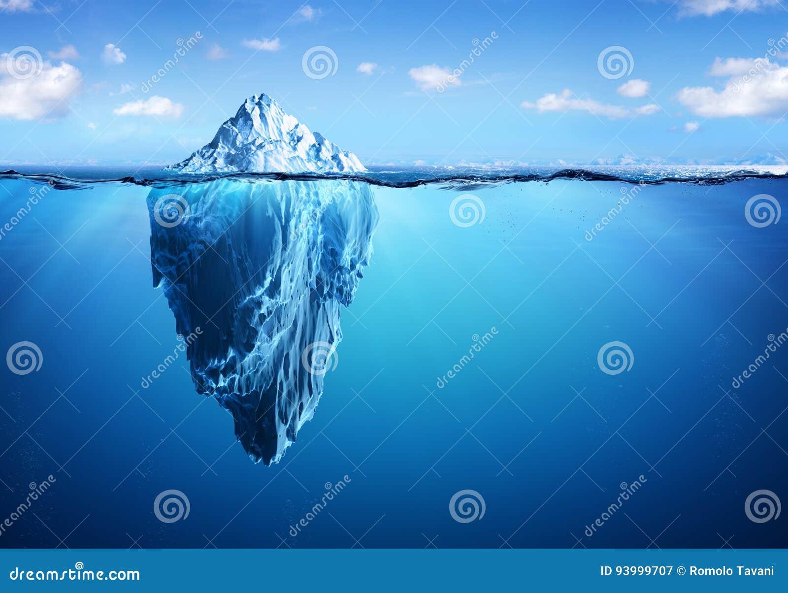 Isberg - dold fara och global uppvärmning