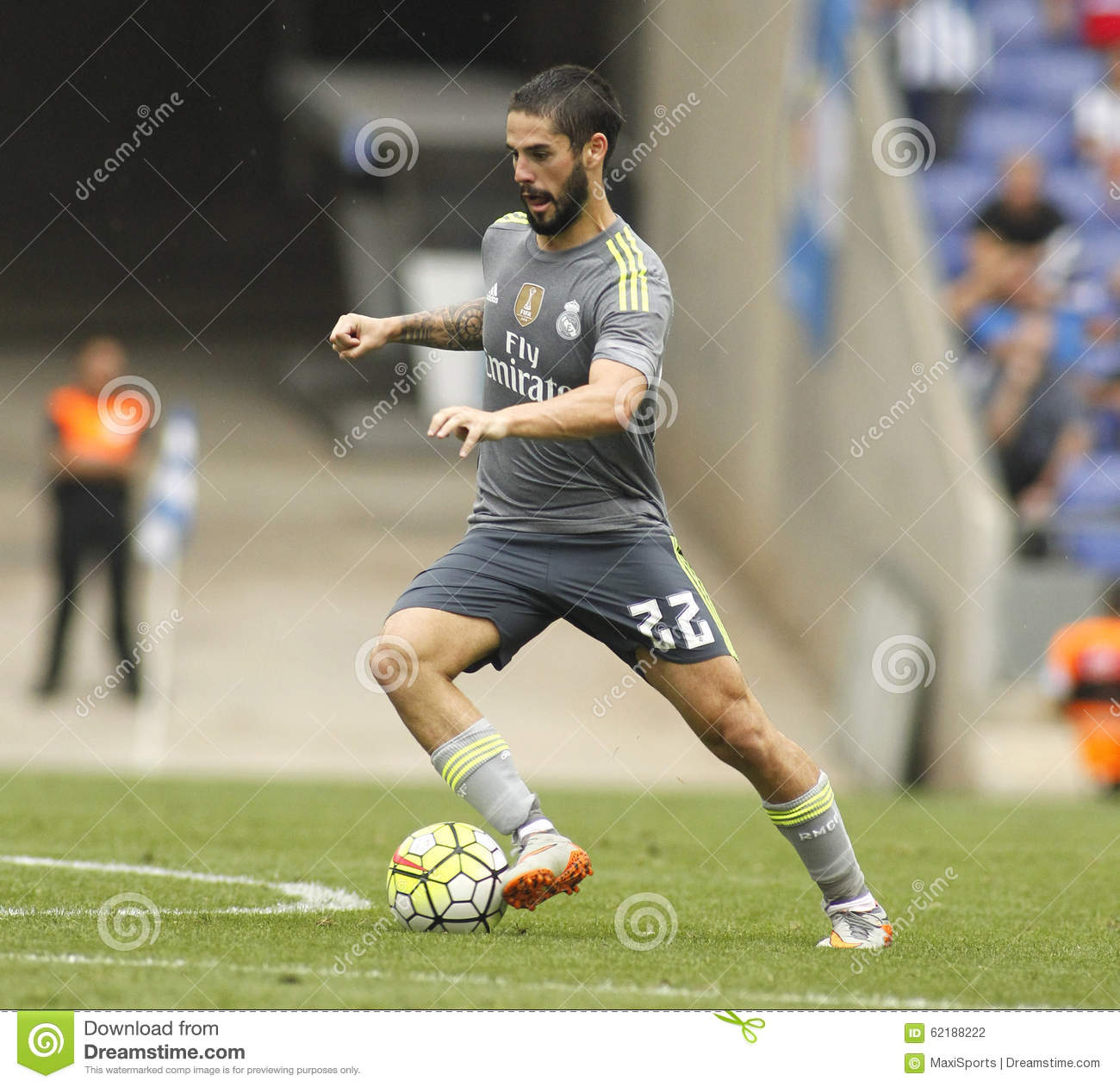 Isco Alarcon Real Madrid Editorial graphy Image