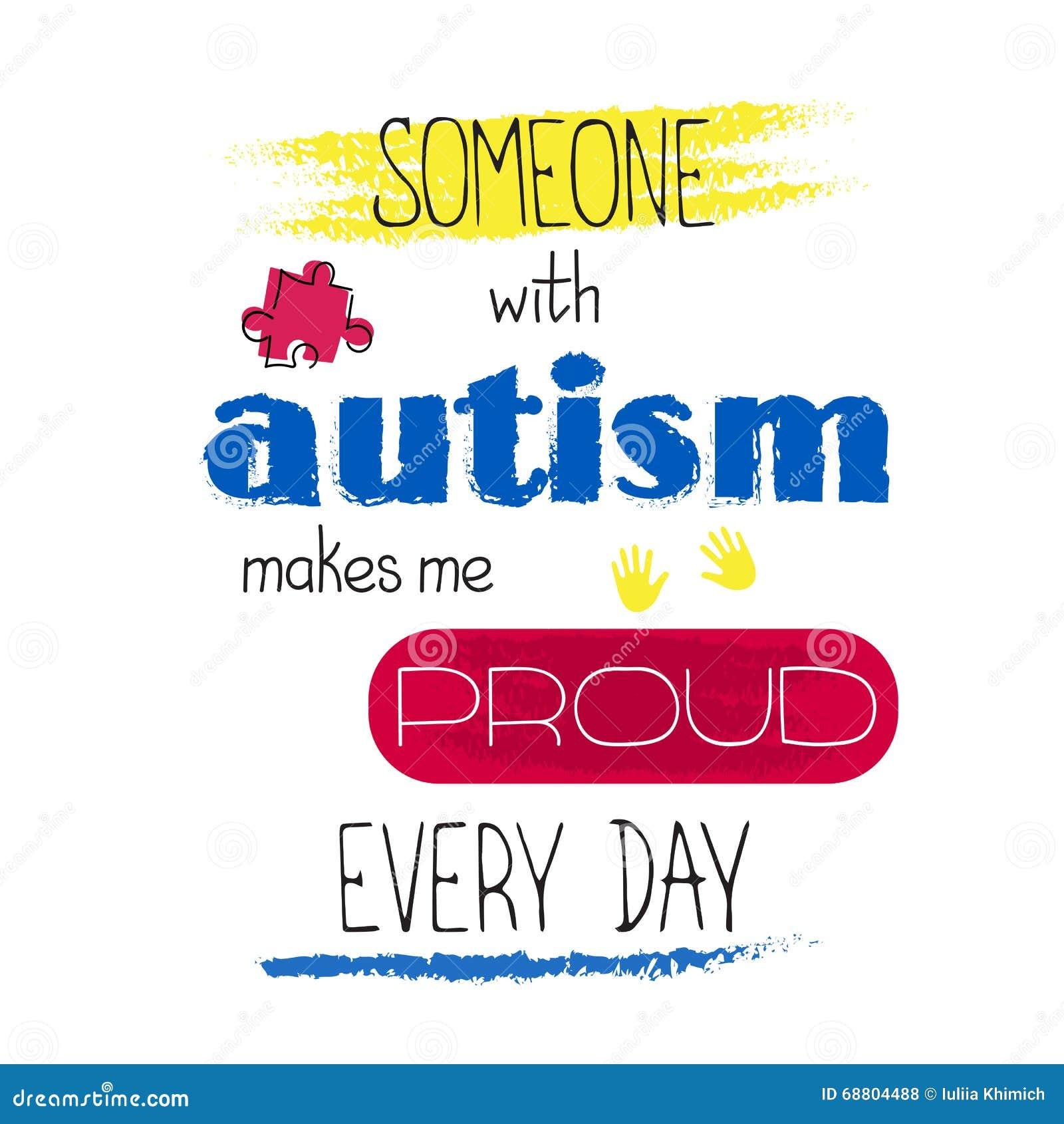 Iscrizione di consapevolezza di autismo