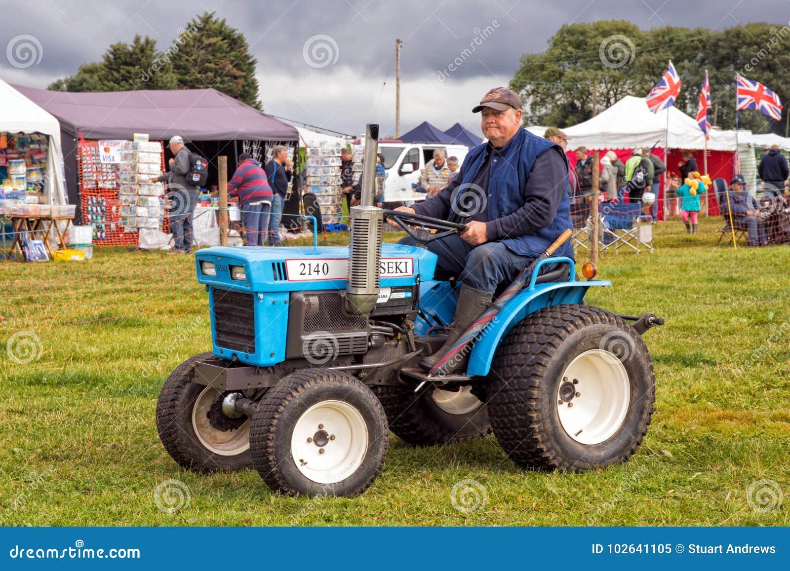 ISEKI TX2140 Compact Tractor  Editorial Image - Image of