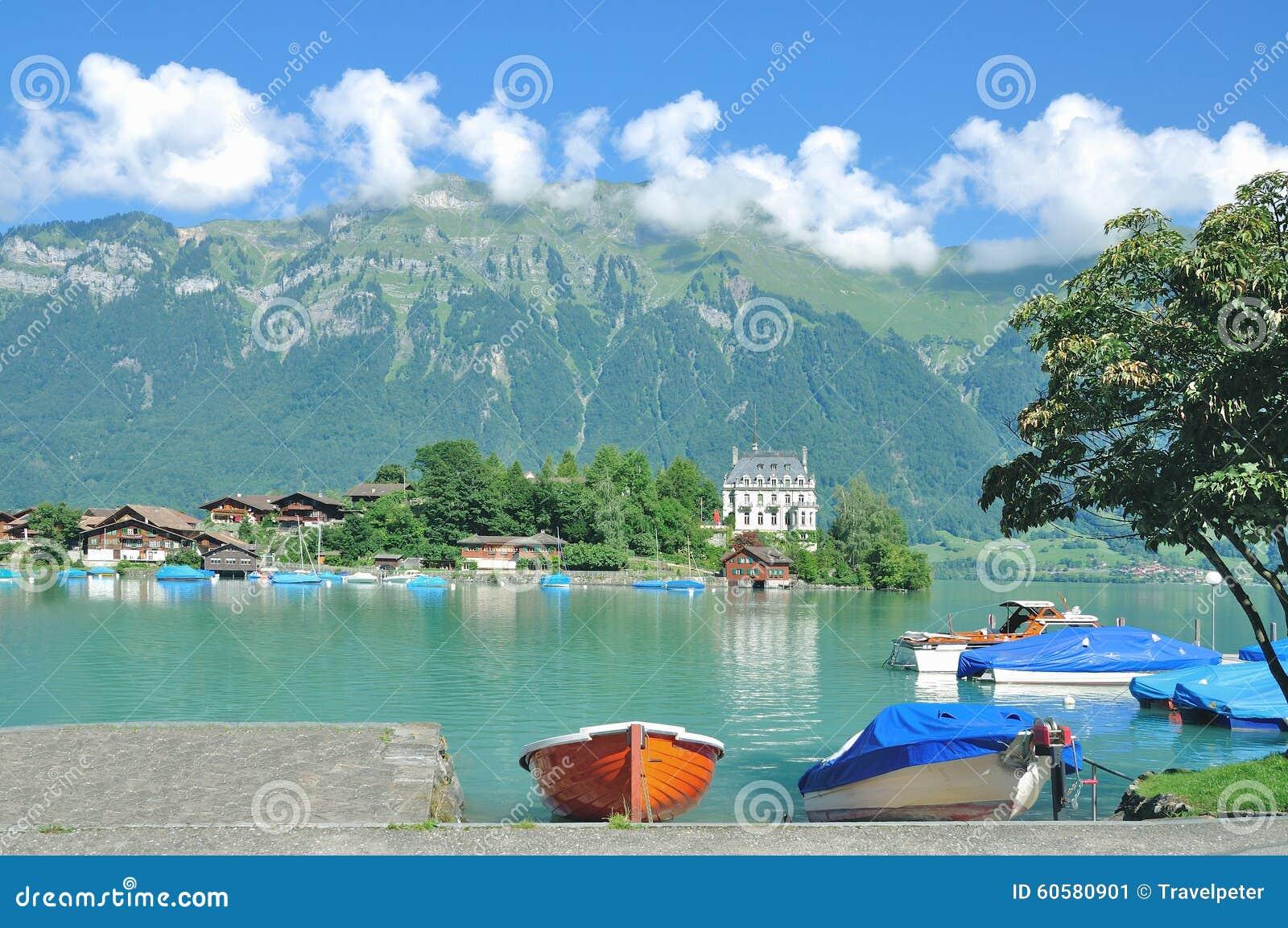 Iseltwald, lago Brienz, Svizzera