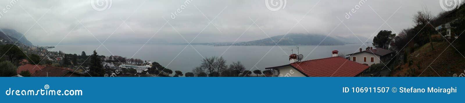 Iseo jeziora widok