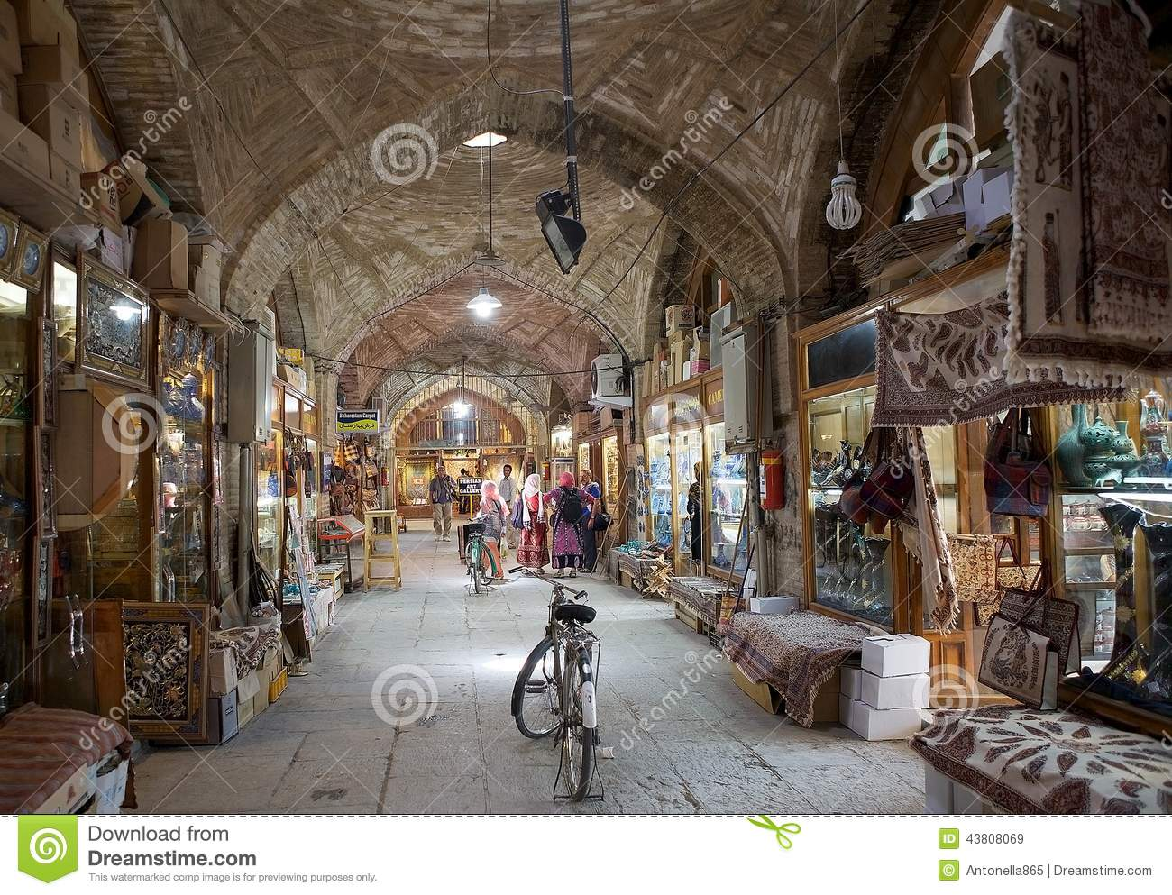 The largest bazaar in the Middle East 1