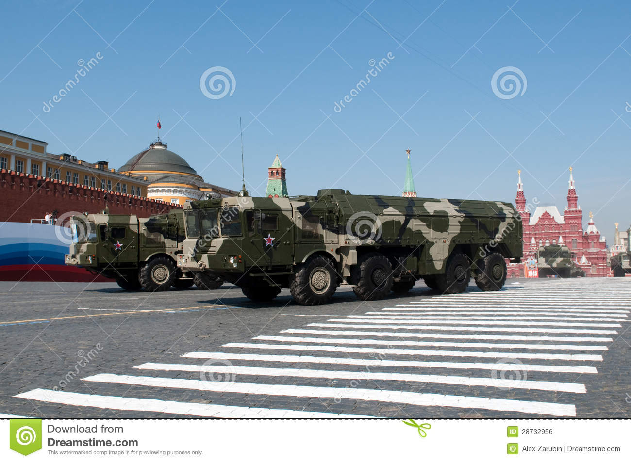 Iskander missile system editorial photo  Image of russian