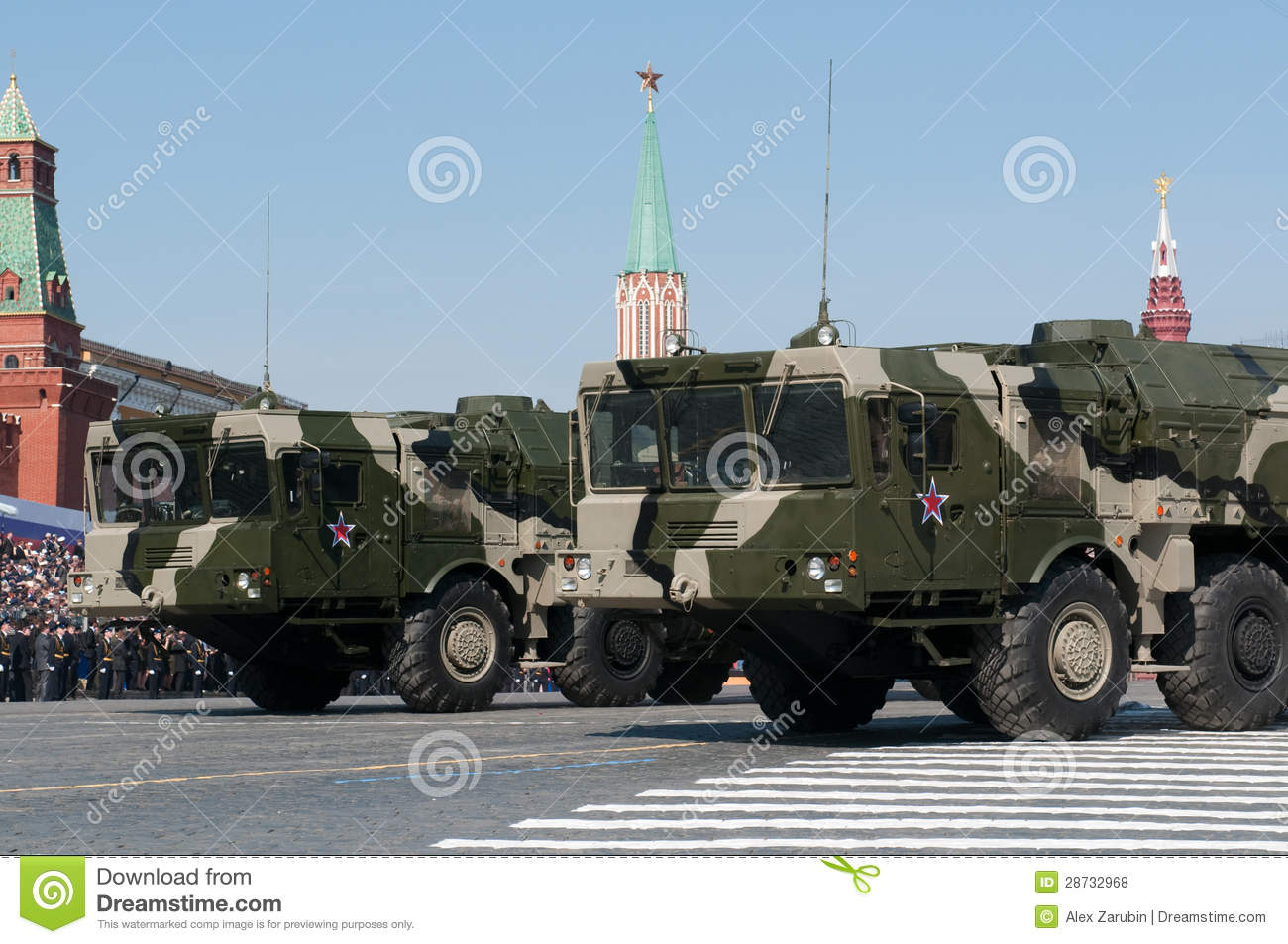 Iskander missile system editorial stock photo  Image of land
