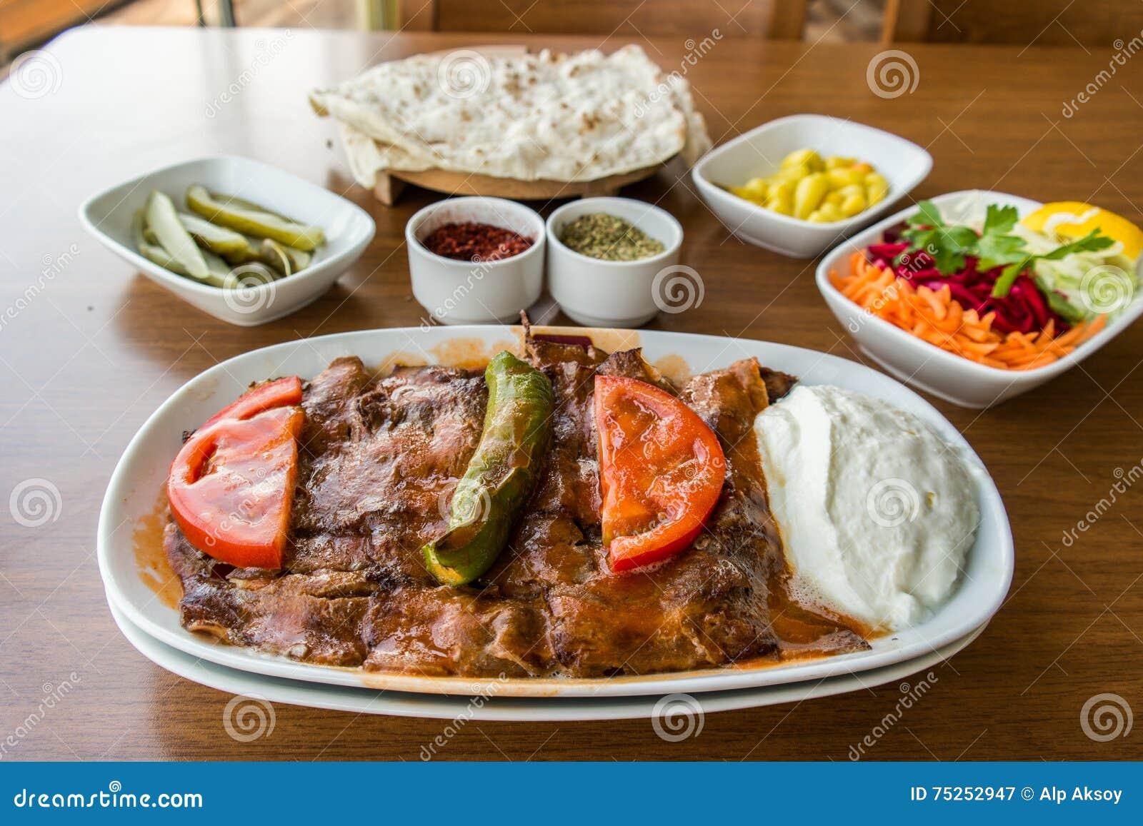 Iskender/alimento tradizionale turco