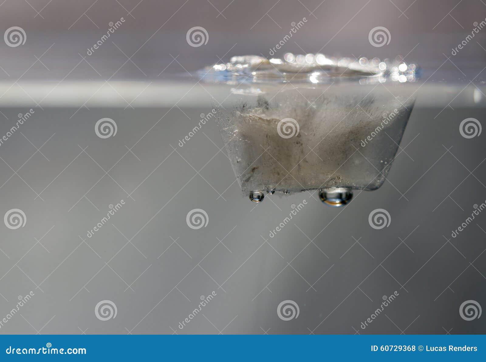 Iskub i vatten