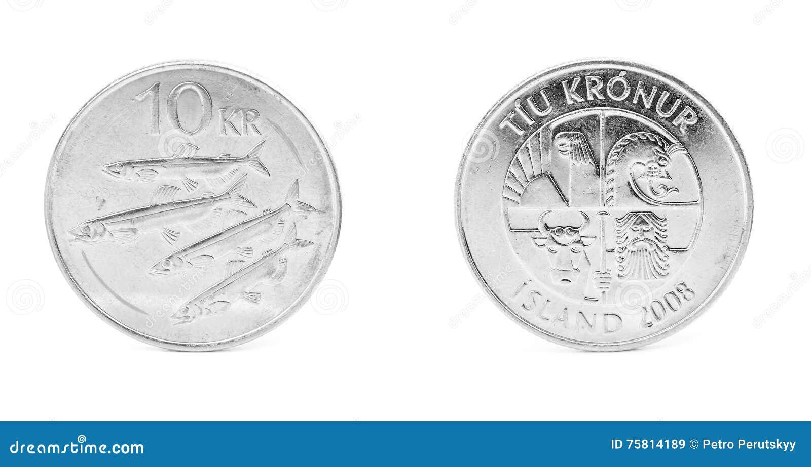 10 Isländische Krona Stockbild Bild Von Finanziell Markt 75814189
