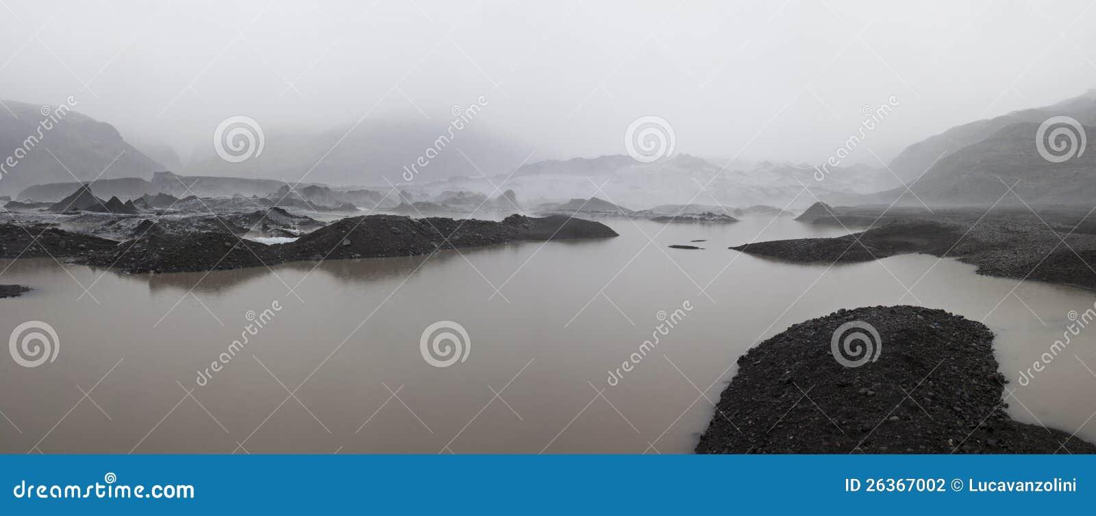 Isländischer Gletscher