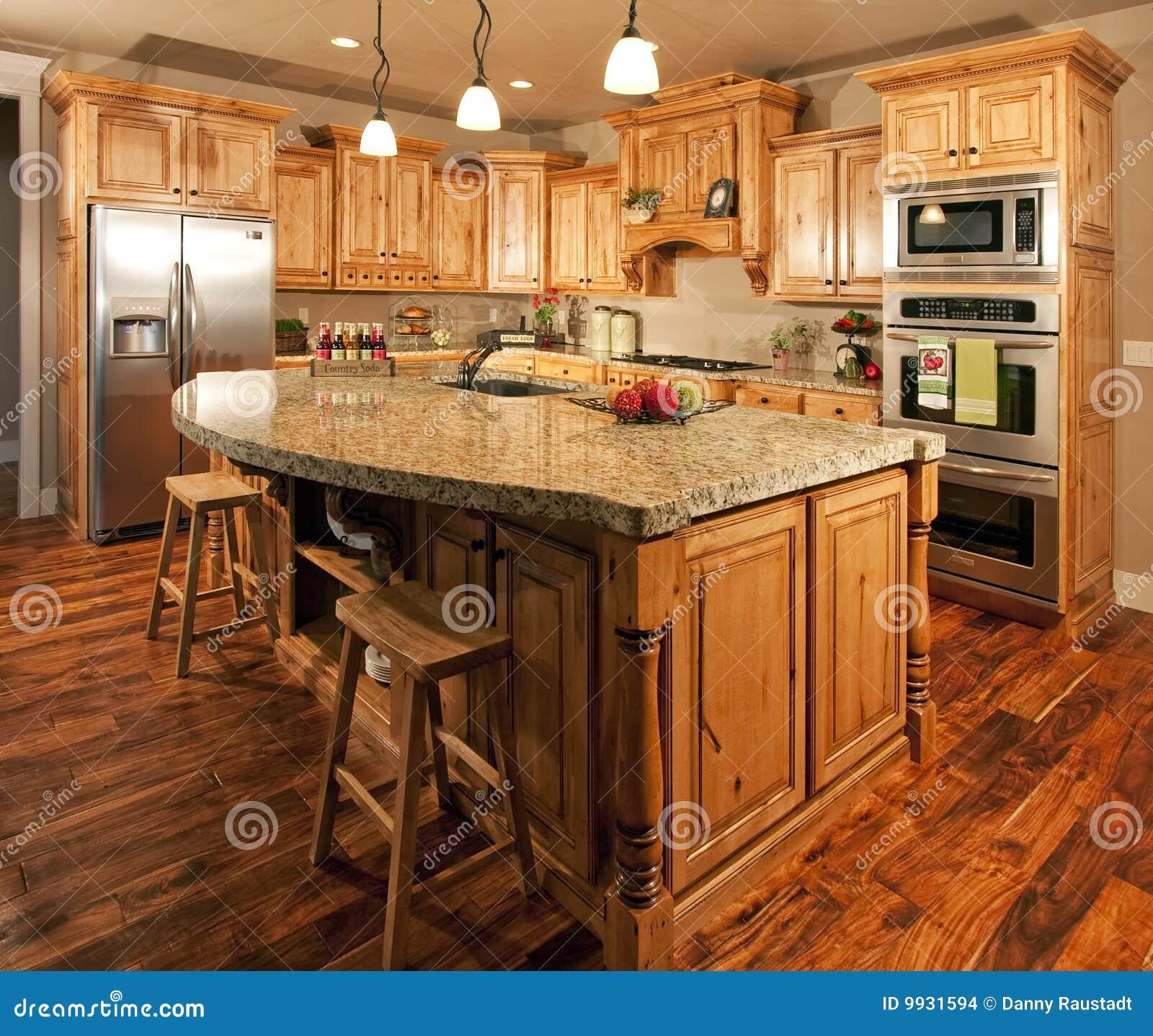 Shaker Dining Room Isla Casera Moderna Del Centro De La Cocina Imagenes De