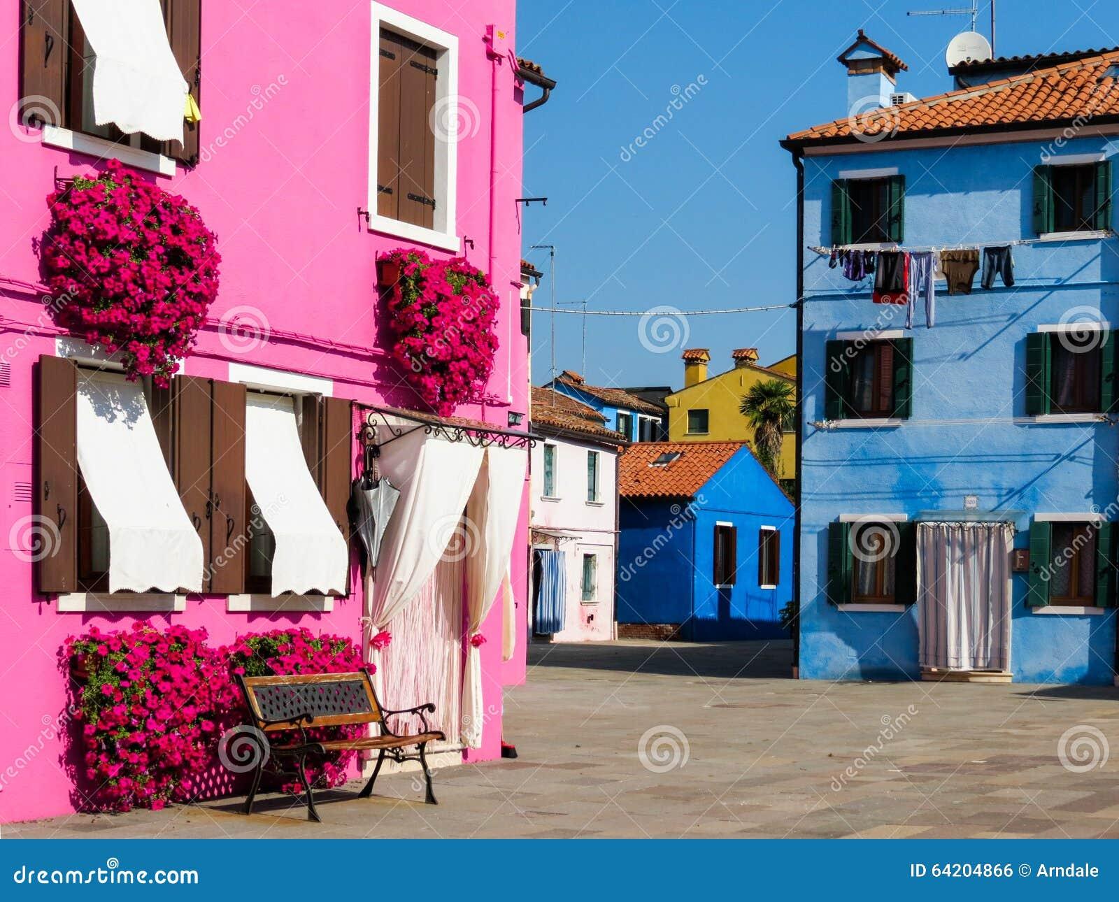 Isla de Burano, Venecia, Italia