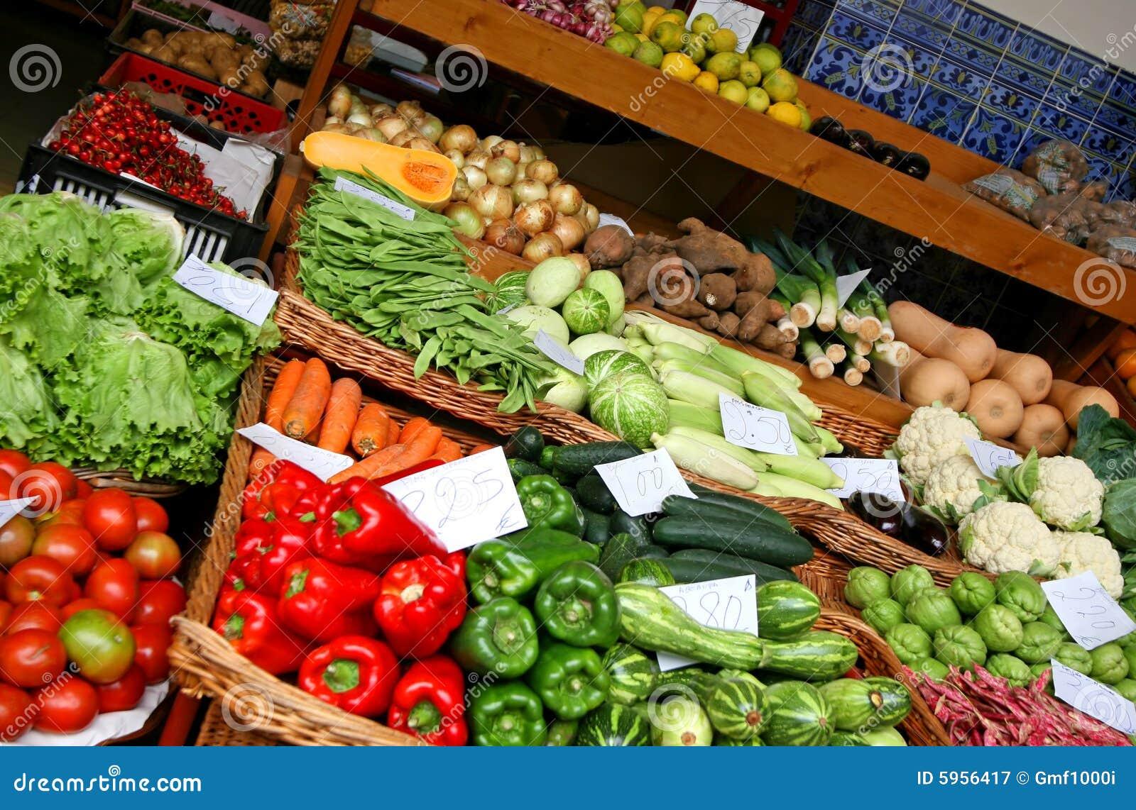 Isla de Madeira - mercado de los granjeros
