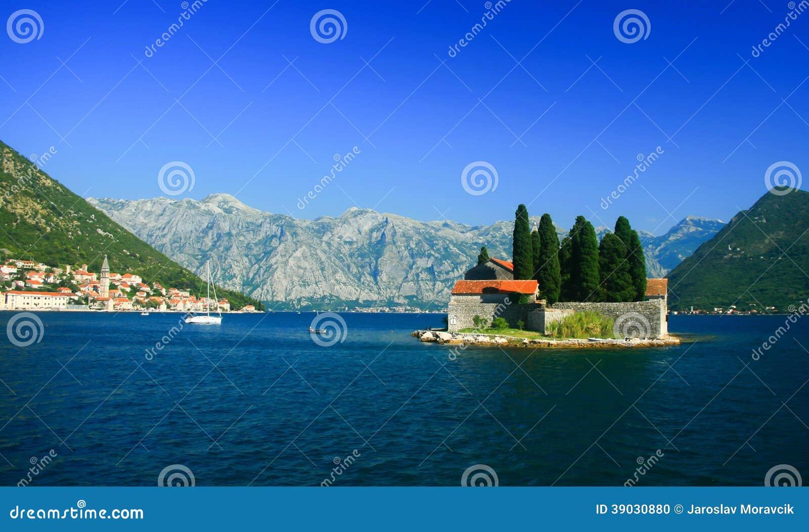 Isla de San Jorge, Montenegro