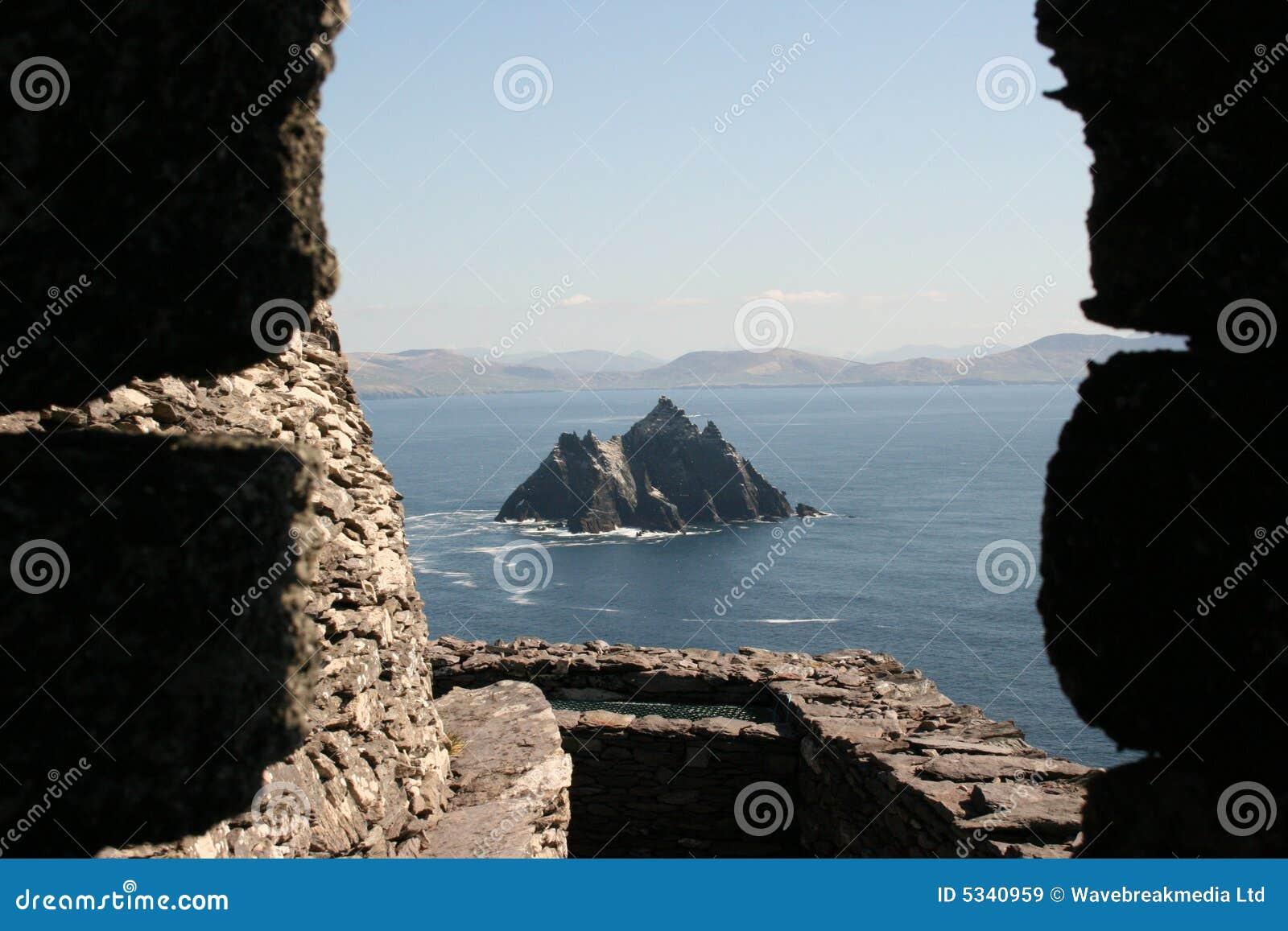Isla de Skellig en Kerry Irlanda
