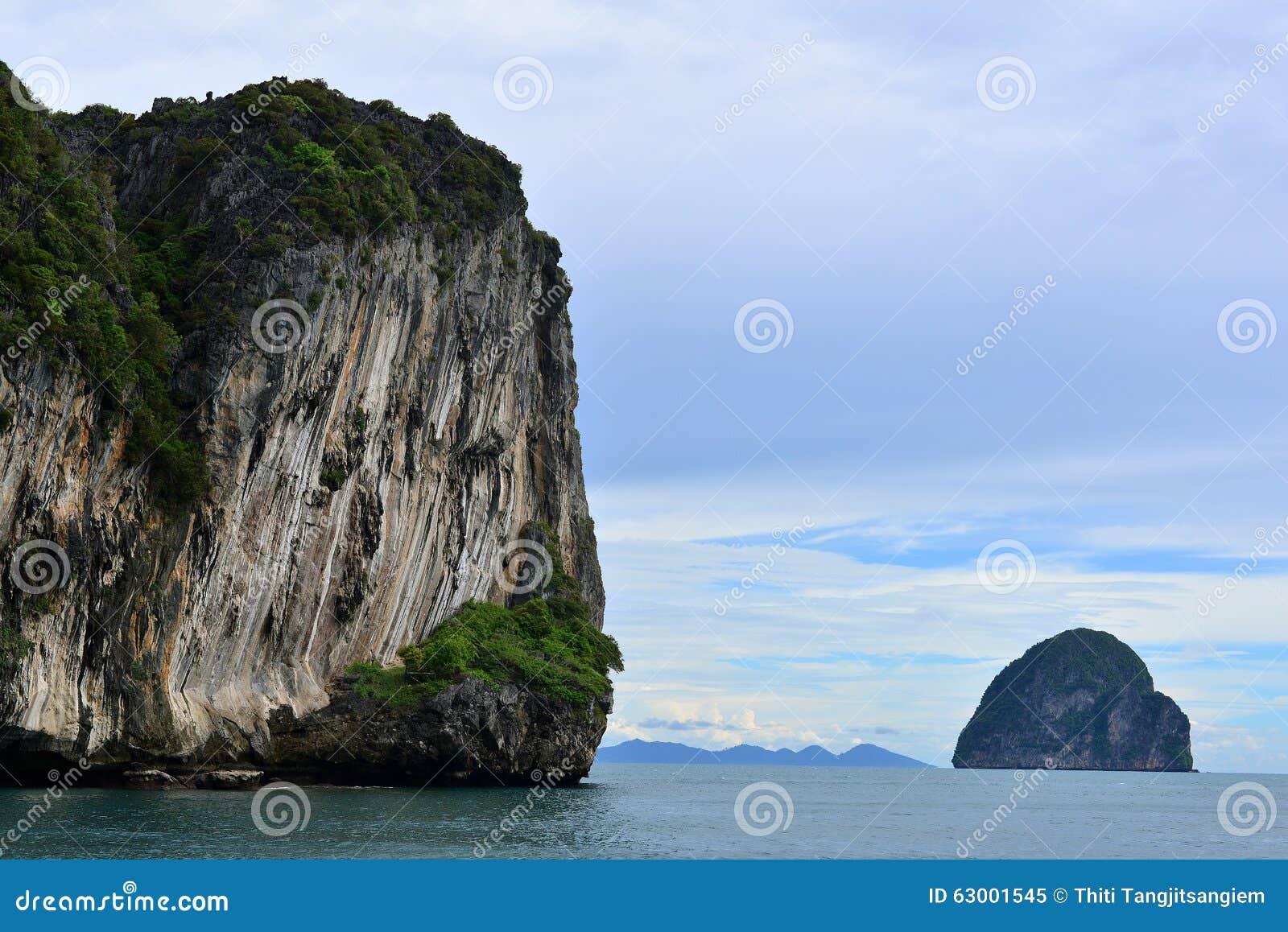 Isla en el trang Tailandia