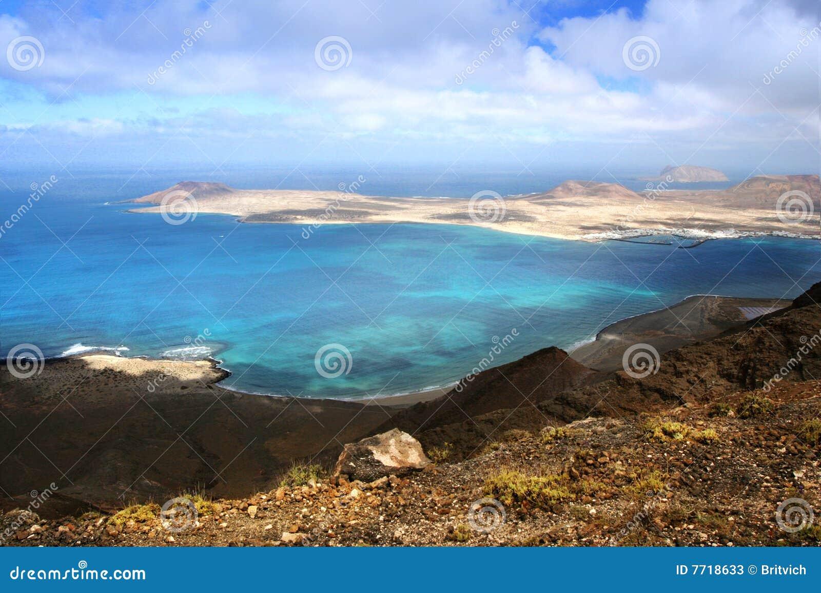 Isla Graciosa - Canary Island Stock Photos - Image: 7718633