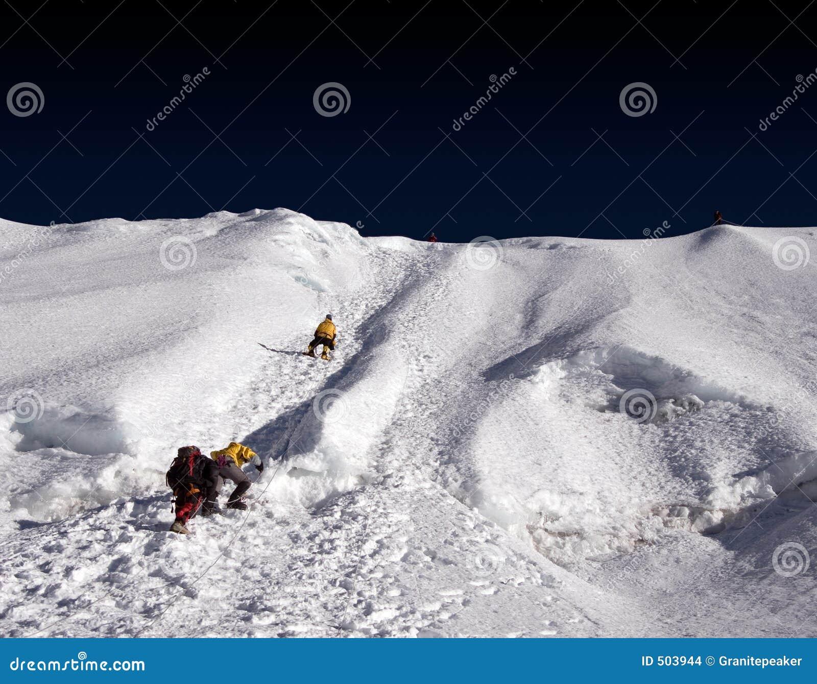 Isla Ridge - Nepal máximos
