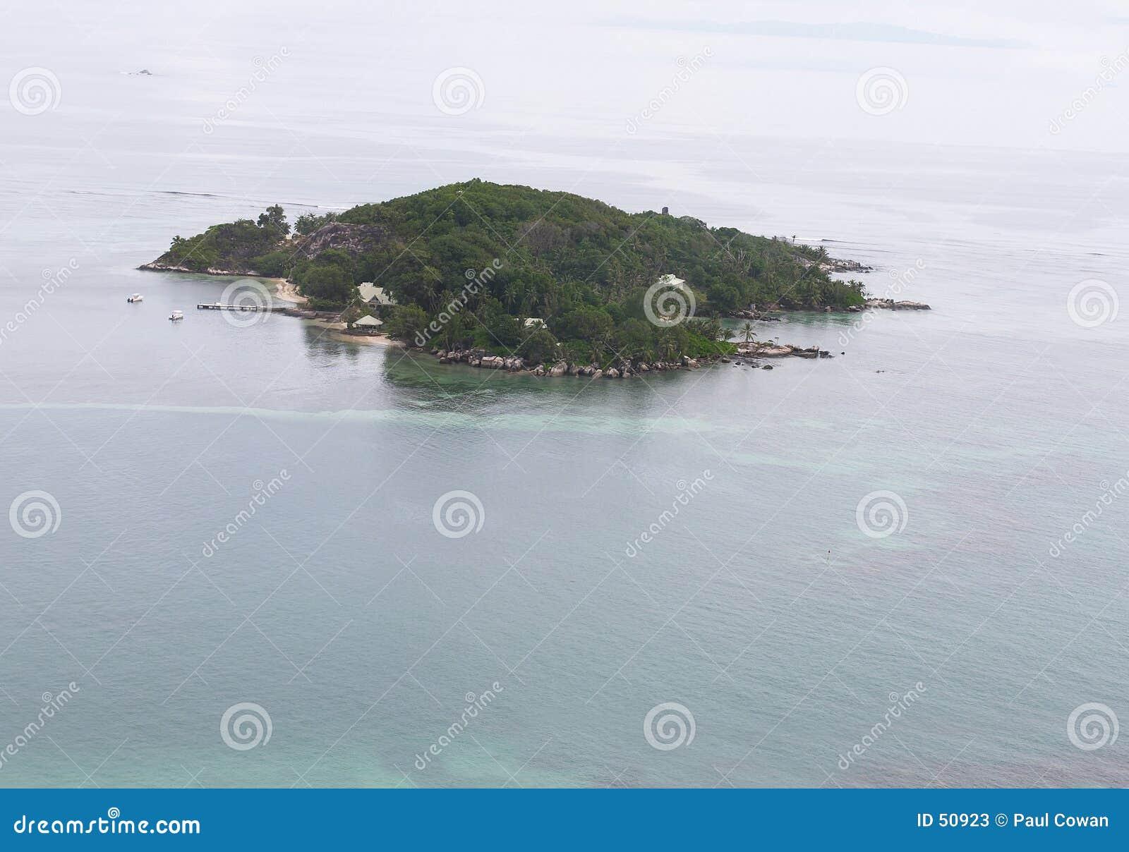 Isla tropical del aire