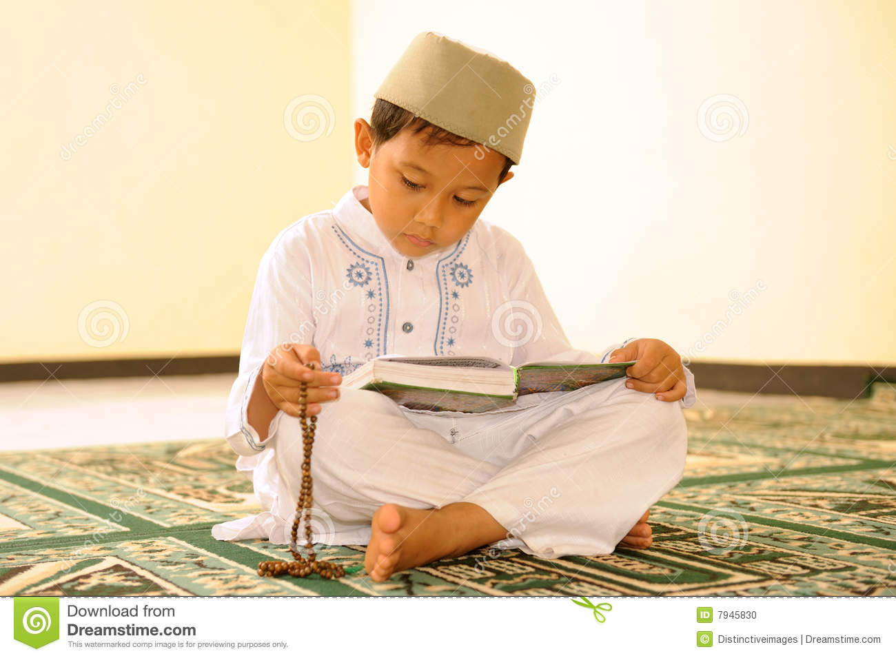 Islam, Child Reading Qur'an Stock Photo - Image: 7945830 Children Reading Quran Beautifully