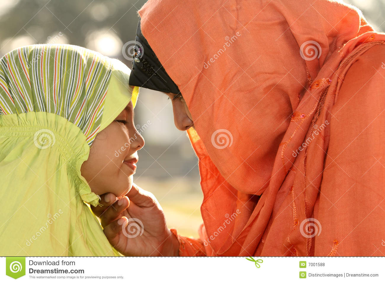 Islam Mother and Child