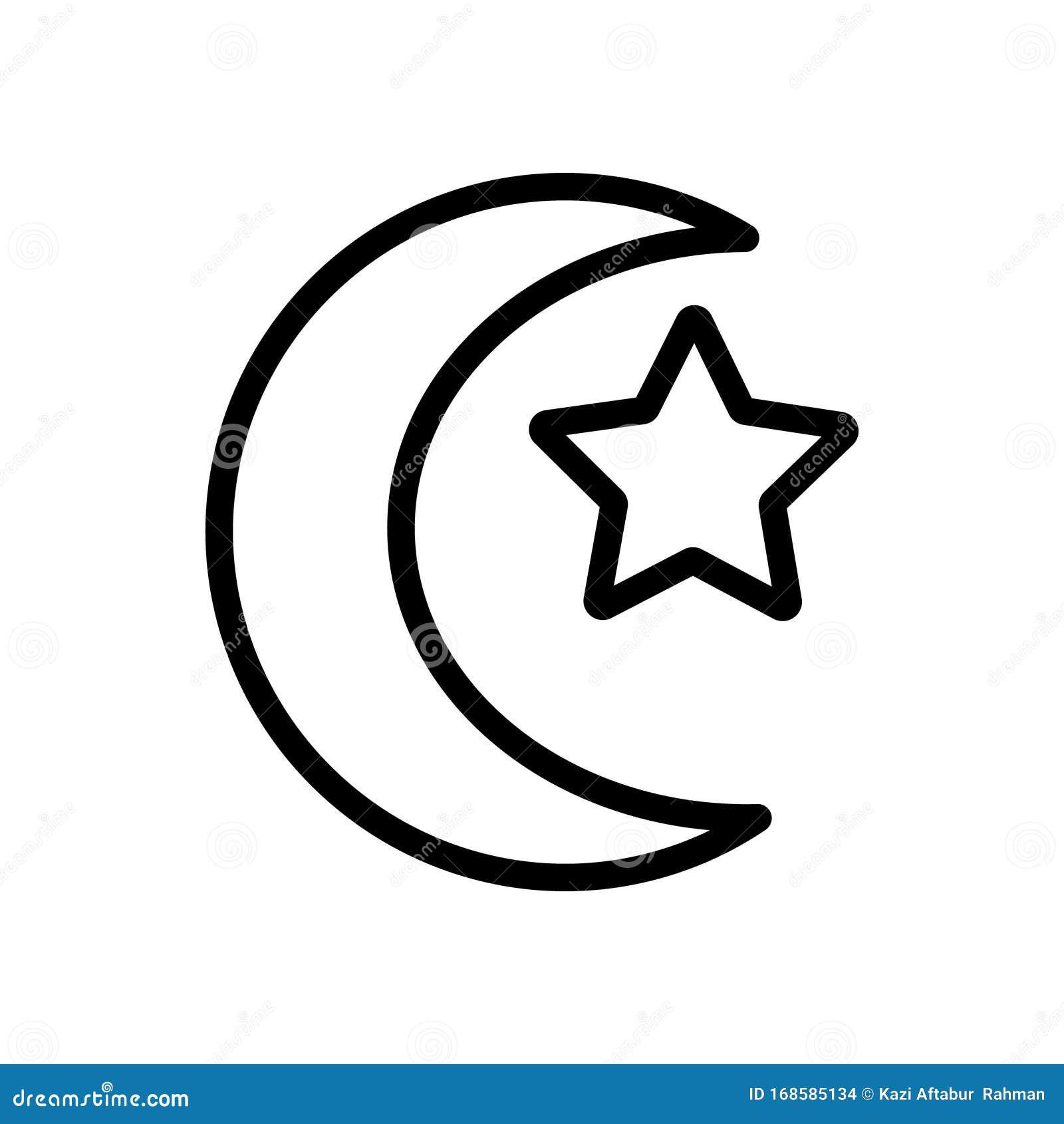 islam religion icon illustration design stock vector illustration of medical symbol 168585134 dreamstime com