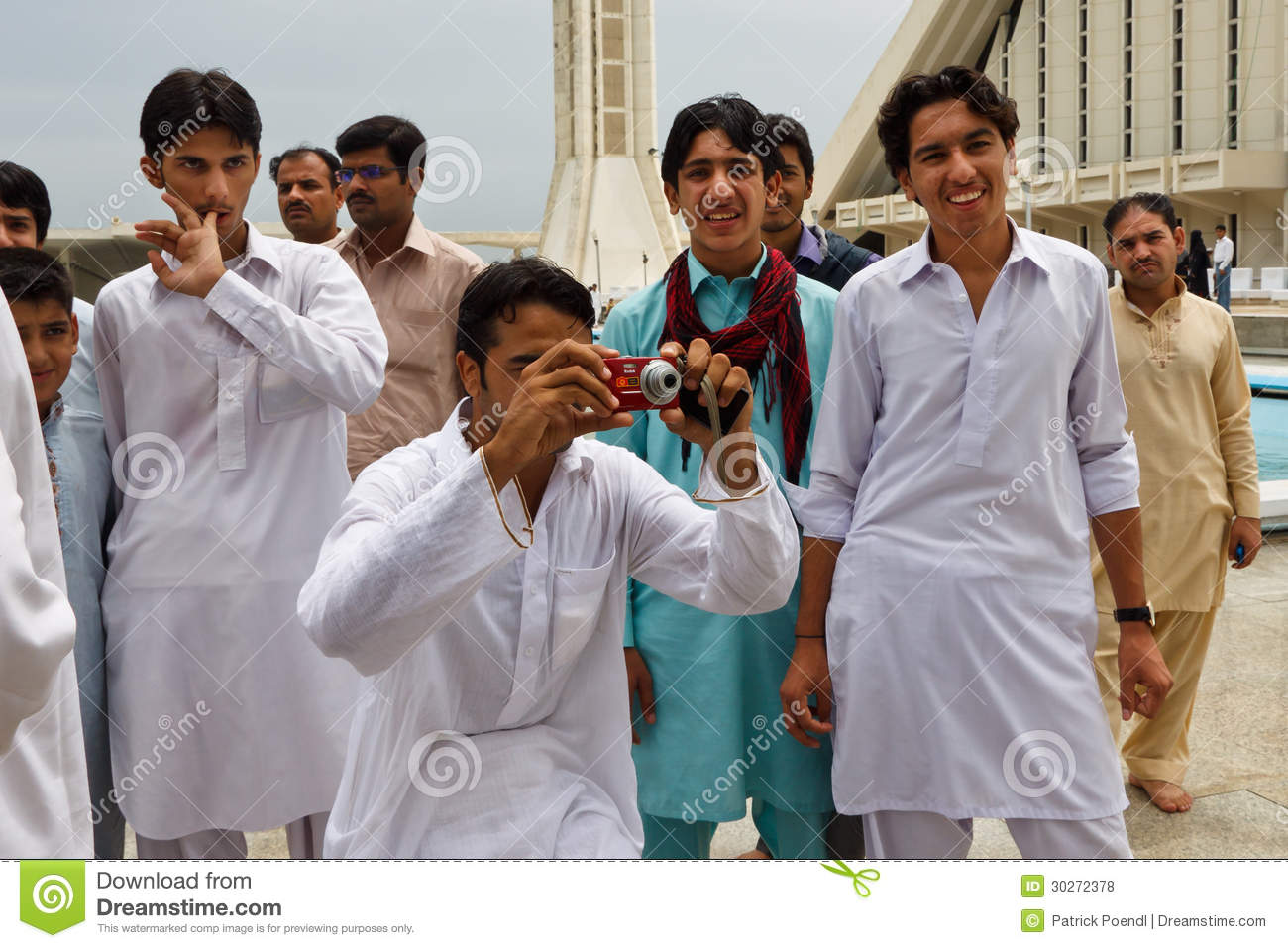 Pakistani adult group
