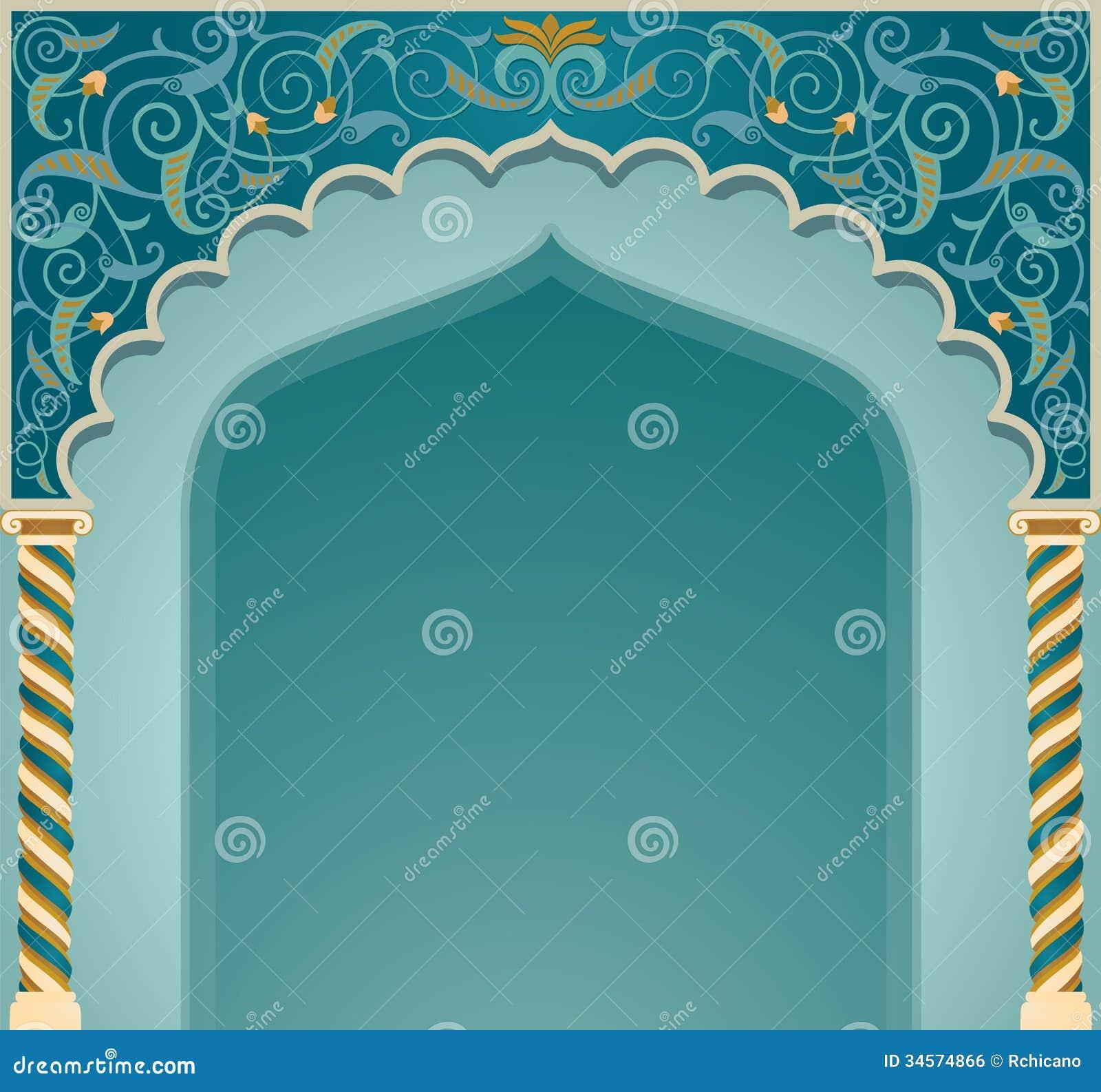 islamic arch design vector illustration high detailed eps format 34574866