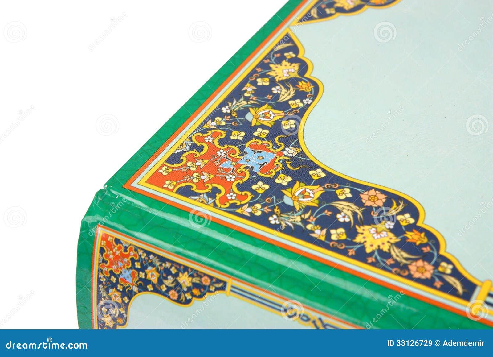 Book Cover Design Arabic ~ Islamic book cover ornament stock image