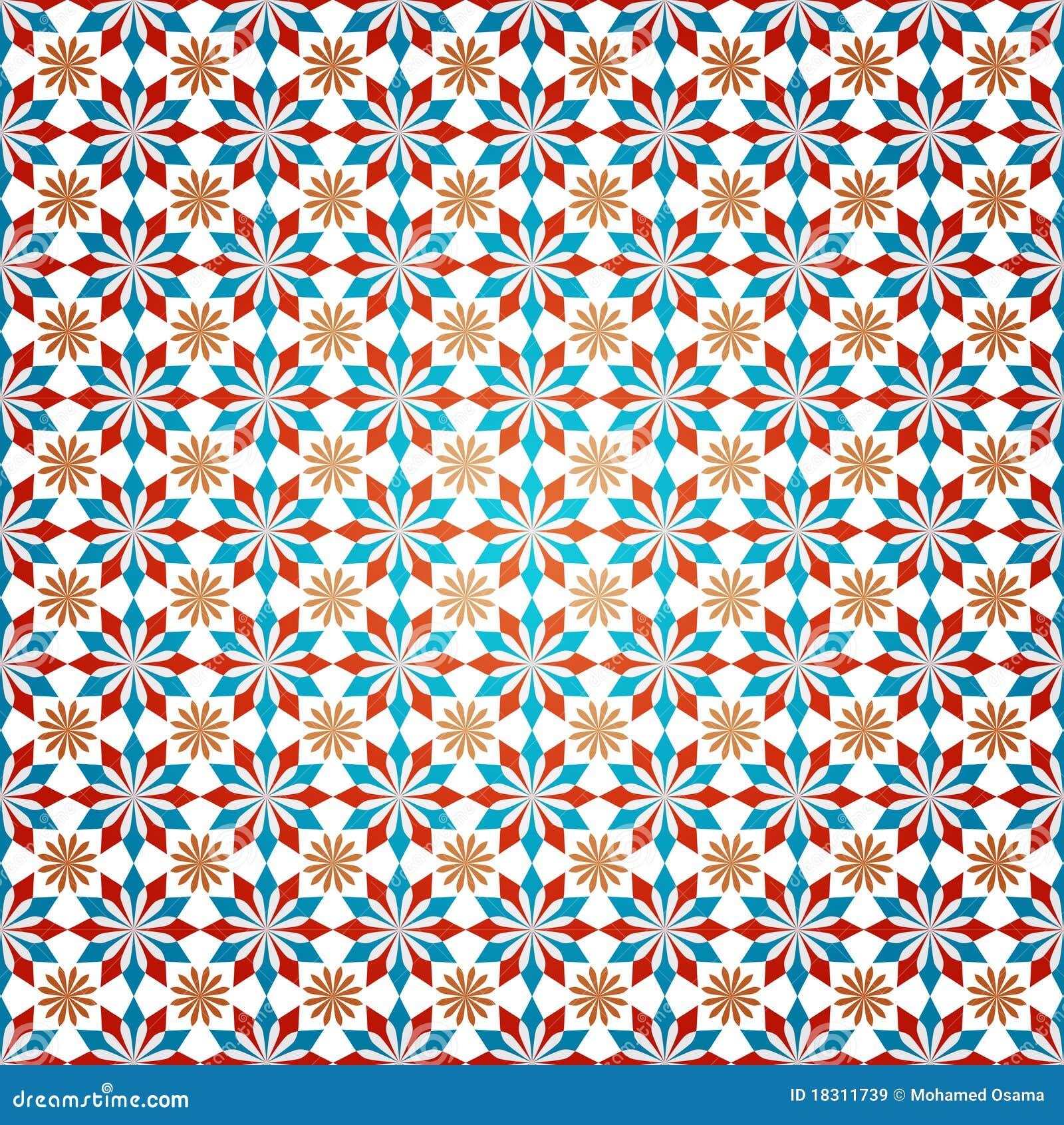 Islamic Decoration Pattern stock vector  Illustration of
