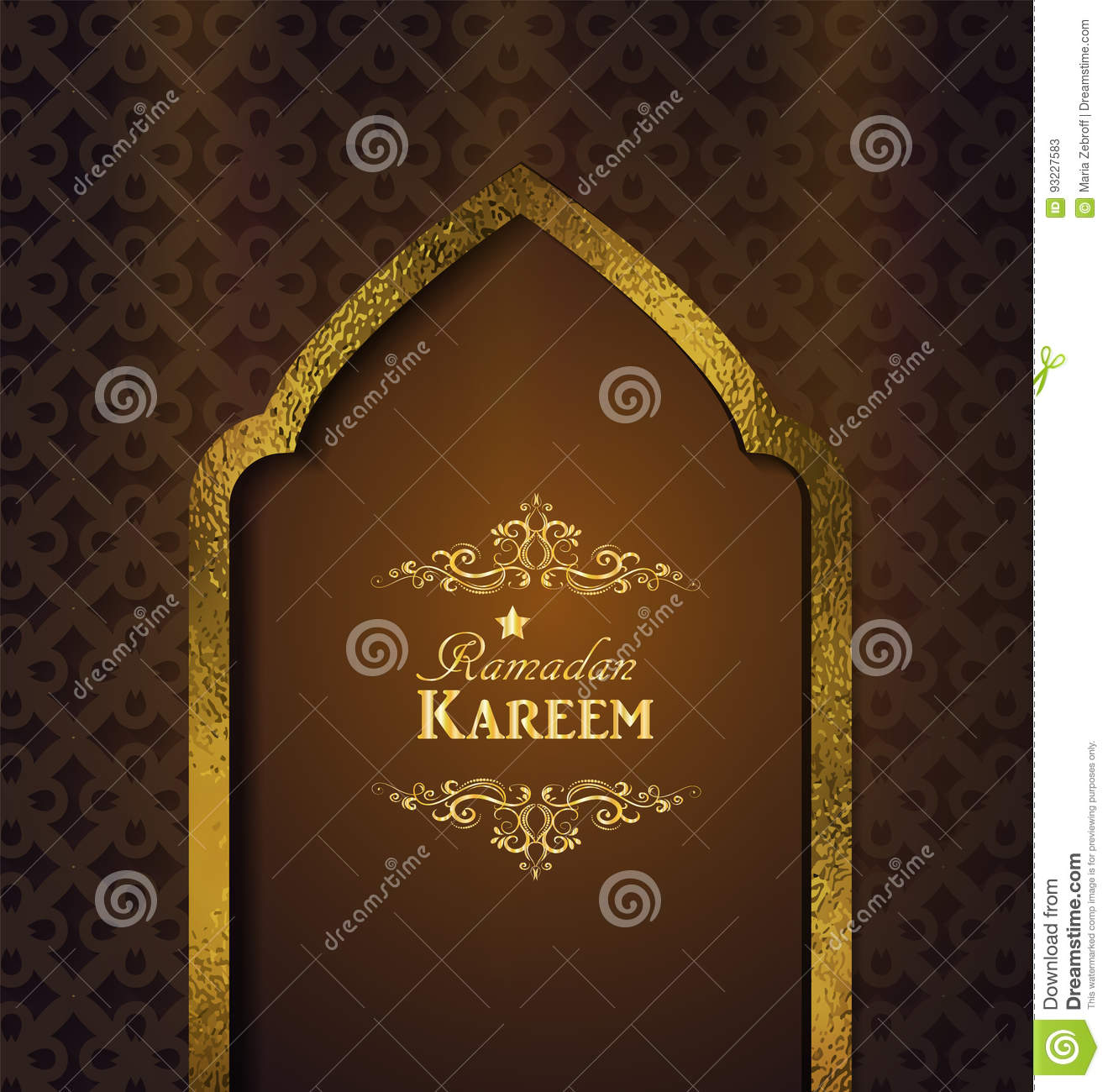 Islamic Design Mosque Door Vector Illustration | CartoonDealer.com #93491228 & Islamic Design Mosque Door Vector Illustration | CartoonDealer.com ...