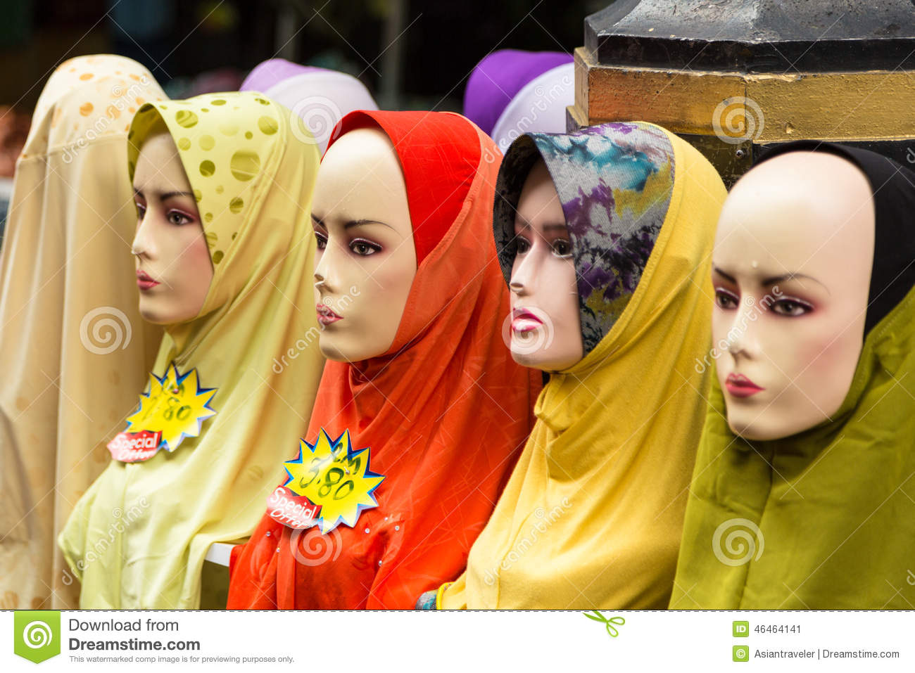 Islamic Fashion Stock Image Image Of Asia Lumpur South
