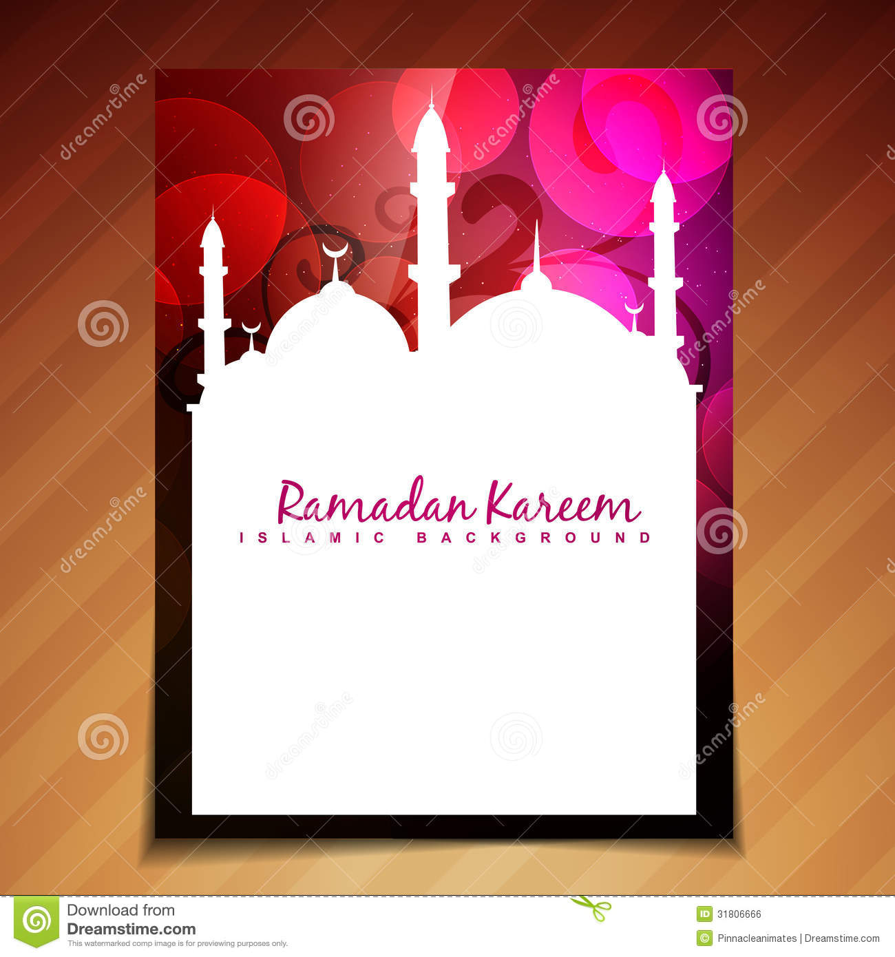 Islamic festival background royalty free stock image for Muslim will template