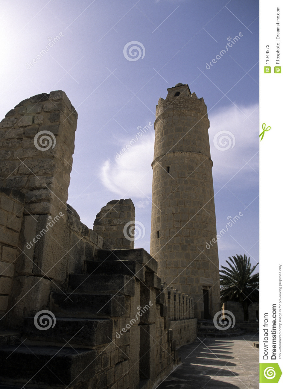 Islamic fort- Tunisia stock image. Image of blue 6d770595ffa