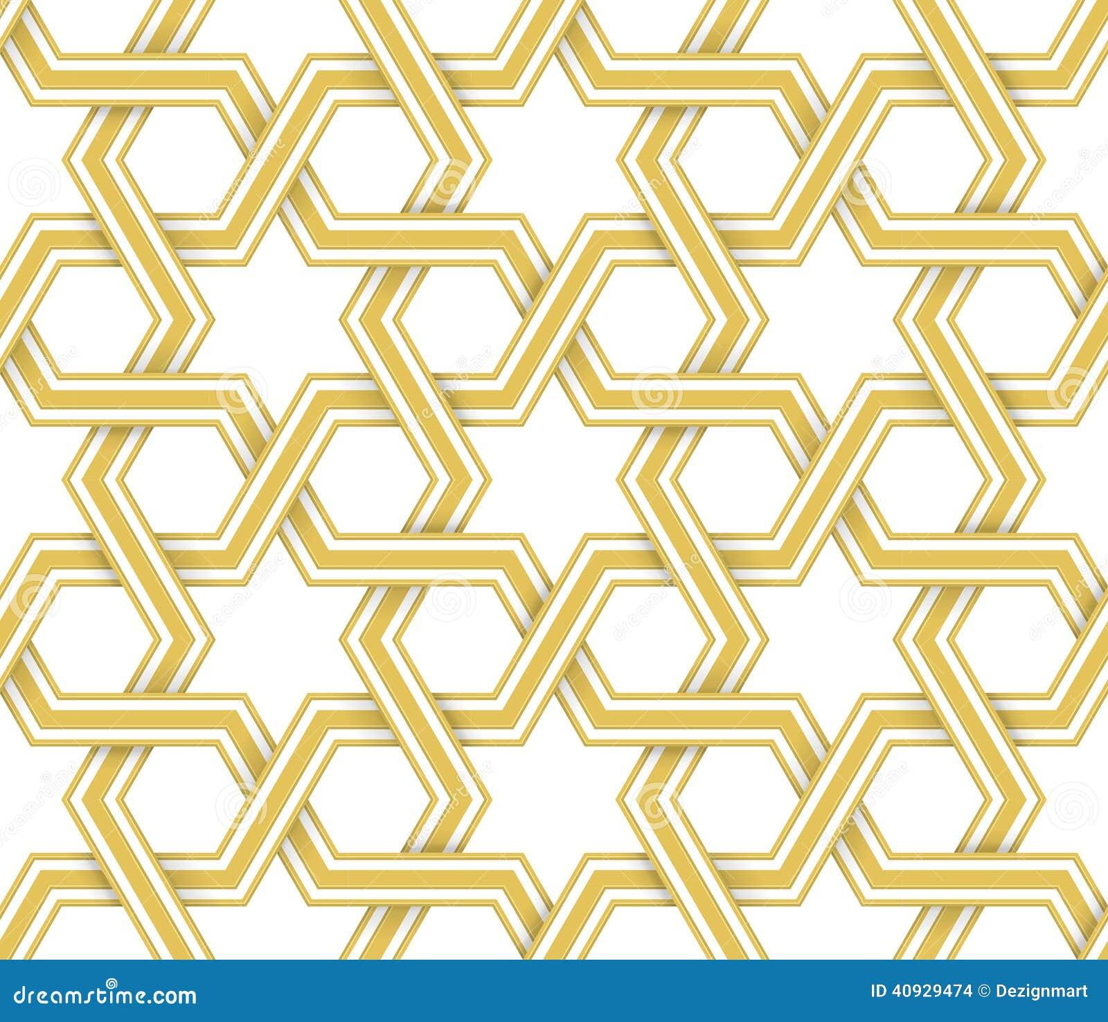 Islamic Geometric Vector Pattern Stock Vector - Image: 40929474 Easy Arabesque Art