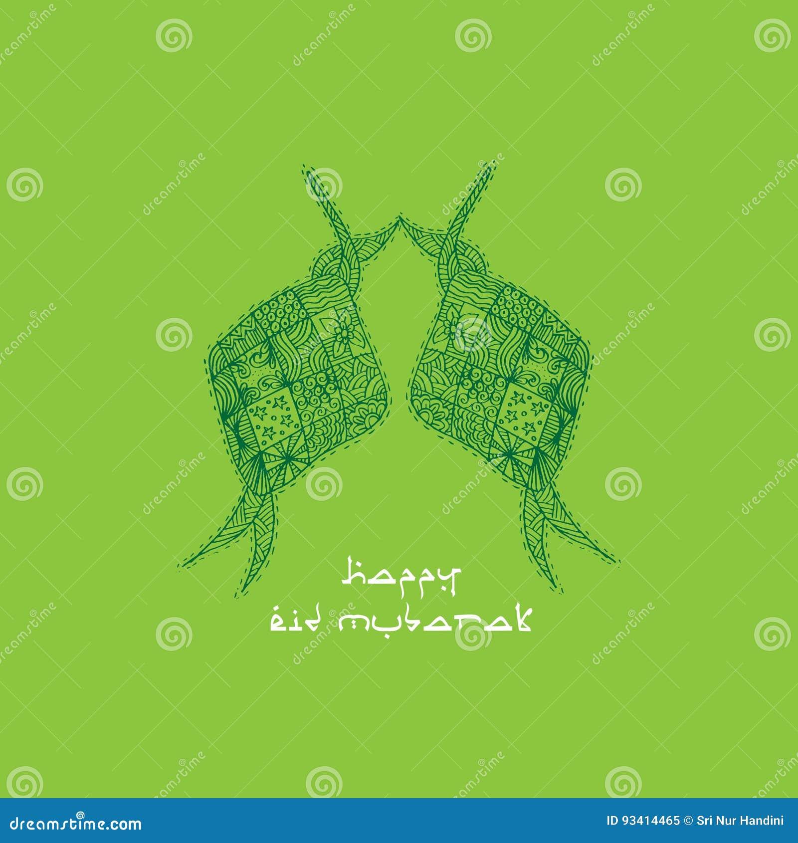 Islamic greeting card eid mubarak stock illustration download islamic greeting card eid mubarak stock illustration illustration of celebration indonesian m4hsunfo