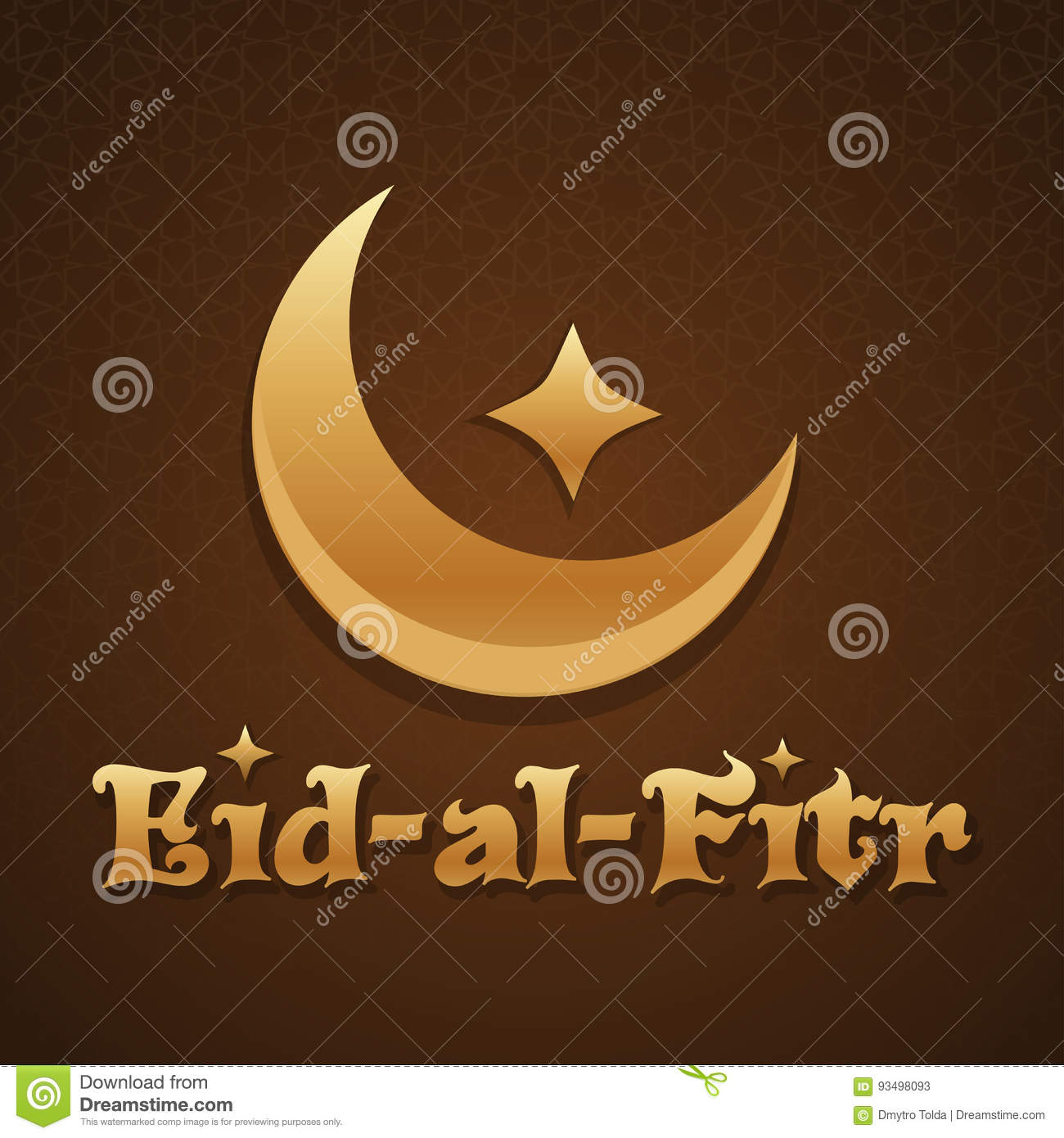 Islamic greeting card template eid al fitr stock vector islamic greeting card template eid al fitr kristyandbryce Image collections