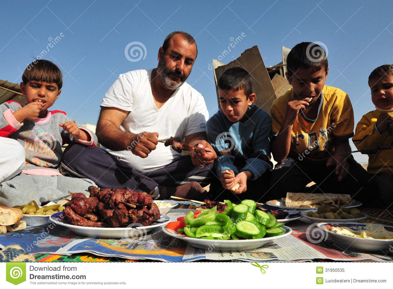 Islamic Holiday - Feast Of The Sacrifice Editorial Image ...