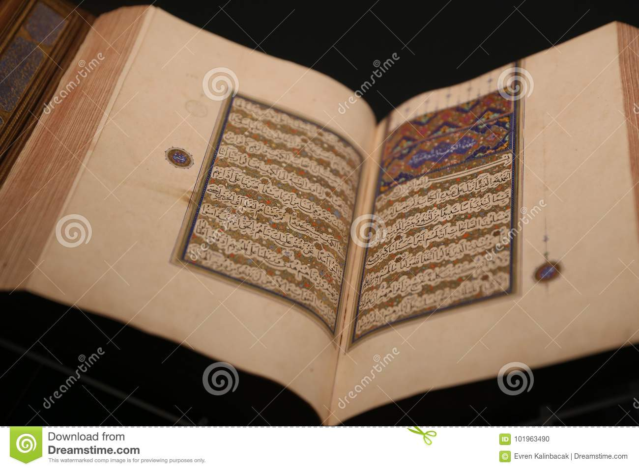 Islamic Holly Book Quran stock photo  Image of islam - 101963490