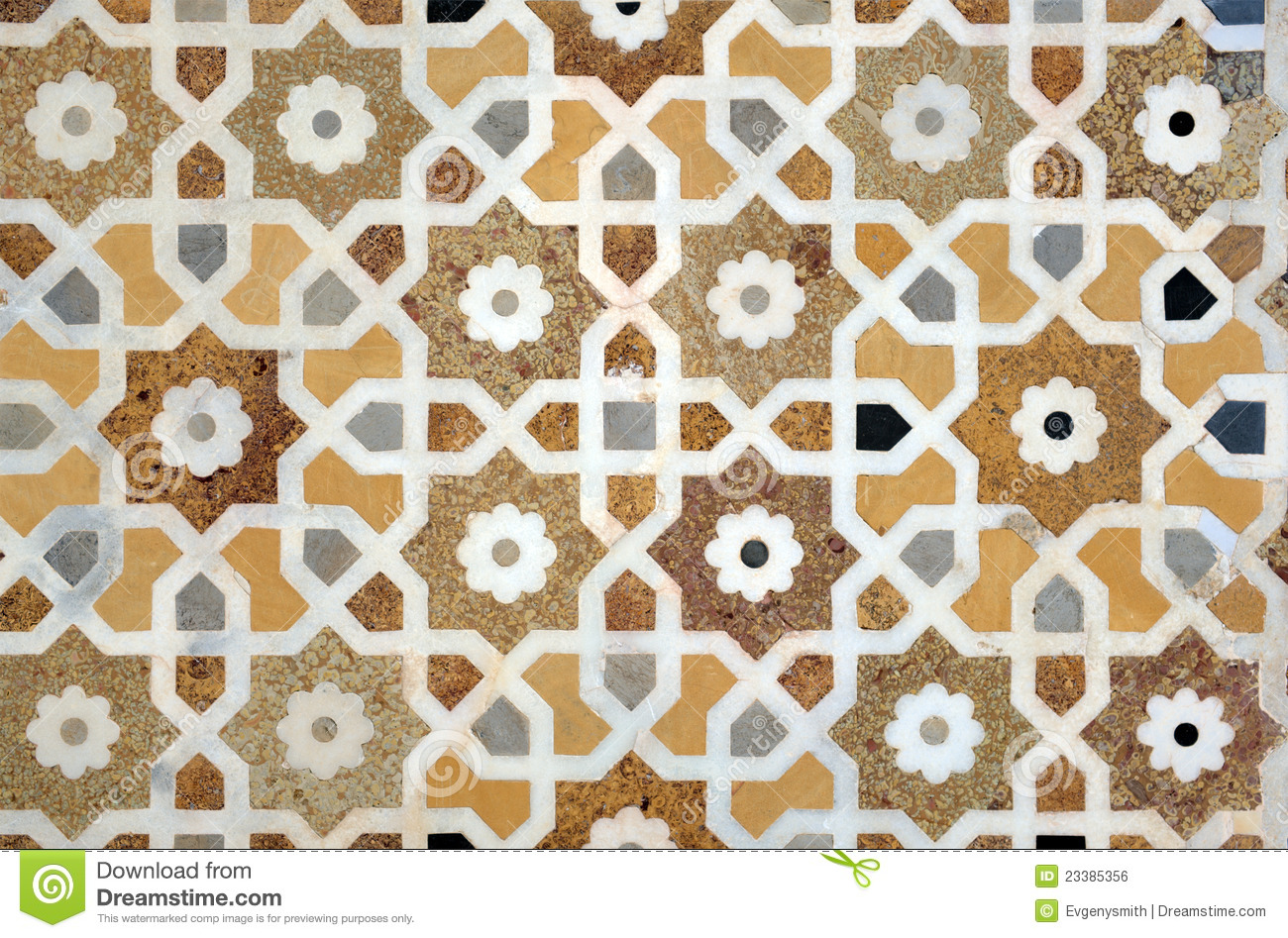 Islamic Interlace Pattern Royalty Free Stock Image - Image: 23385356
