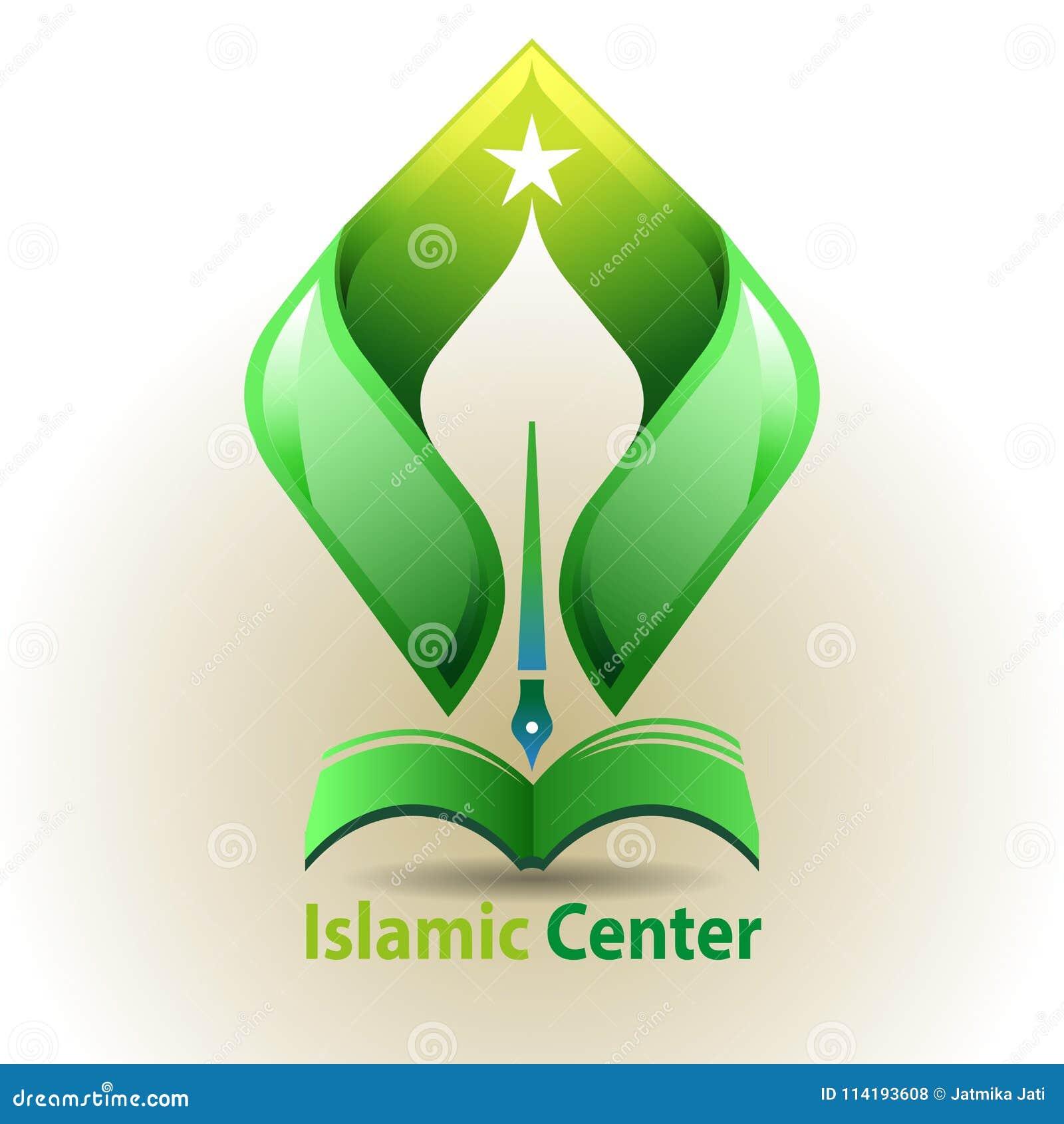 Islamic Learning Center Symbol Stock Vector Illustration Of Read
