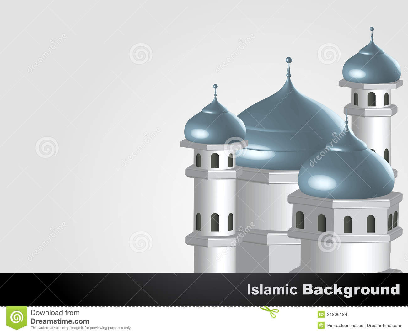 Islamic Mosque Background Stock Images - Image: 31806184
