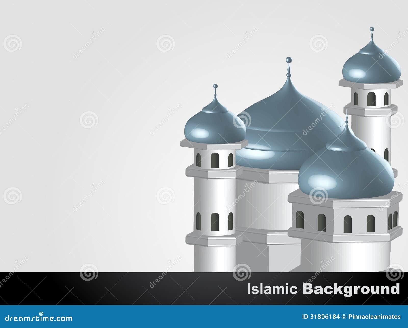 Islamic Mosque Background Stock Images - Image: 31806184