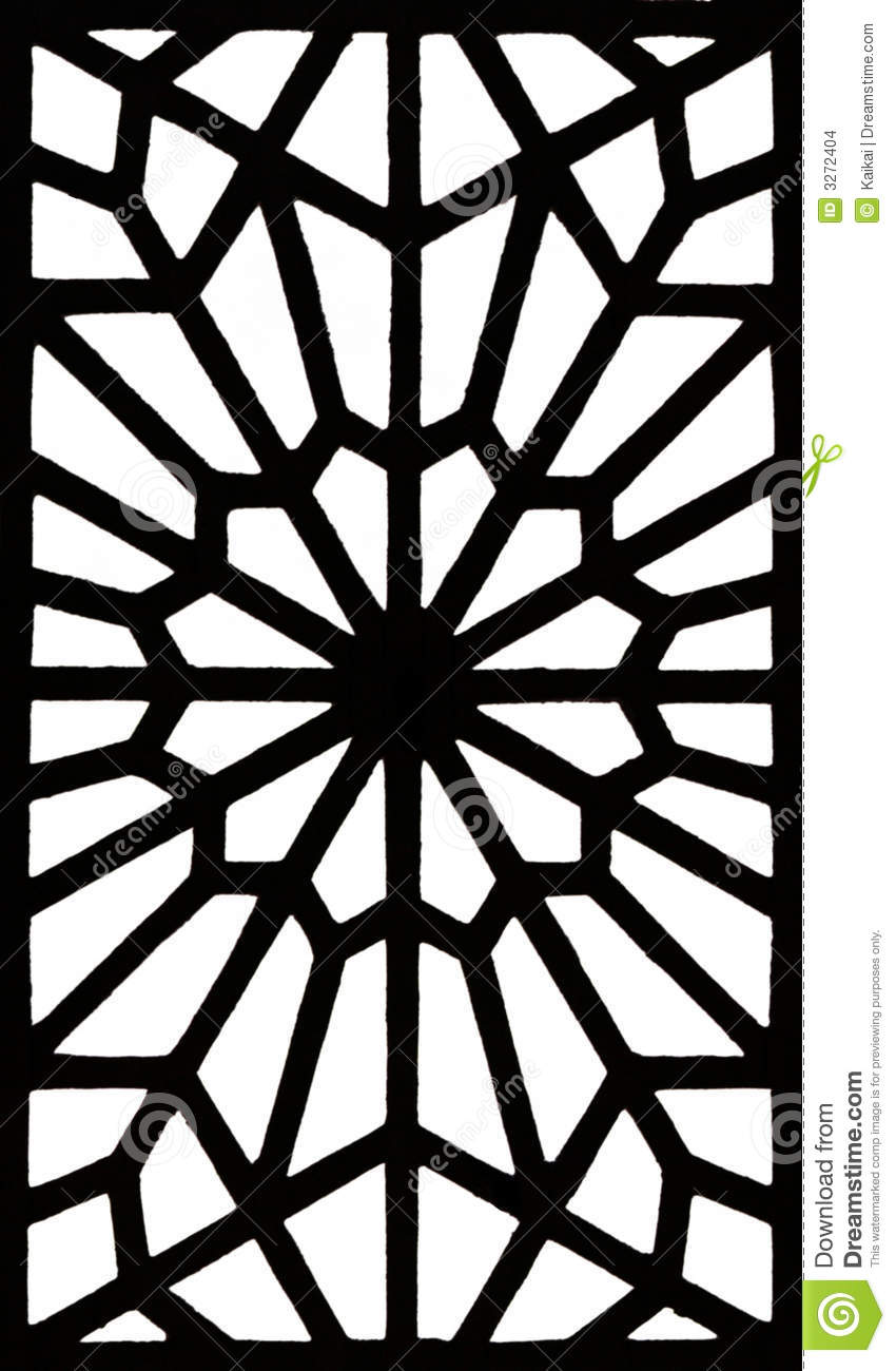 Islamic Patterns Colouring Pages page 2