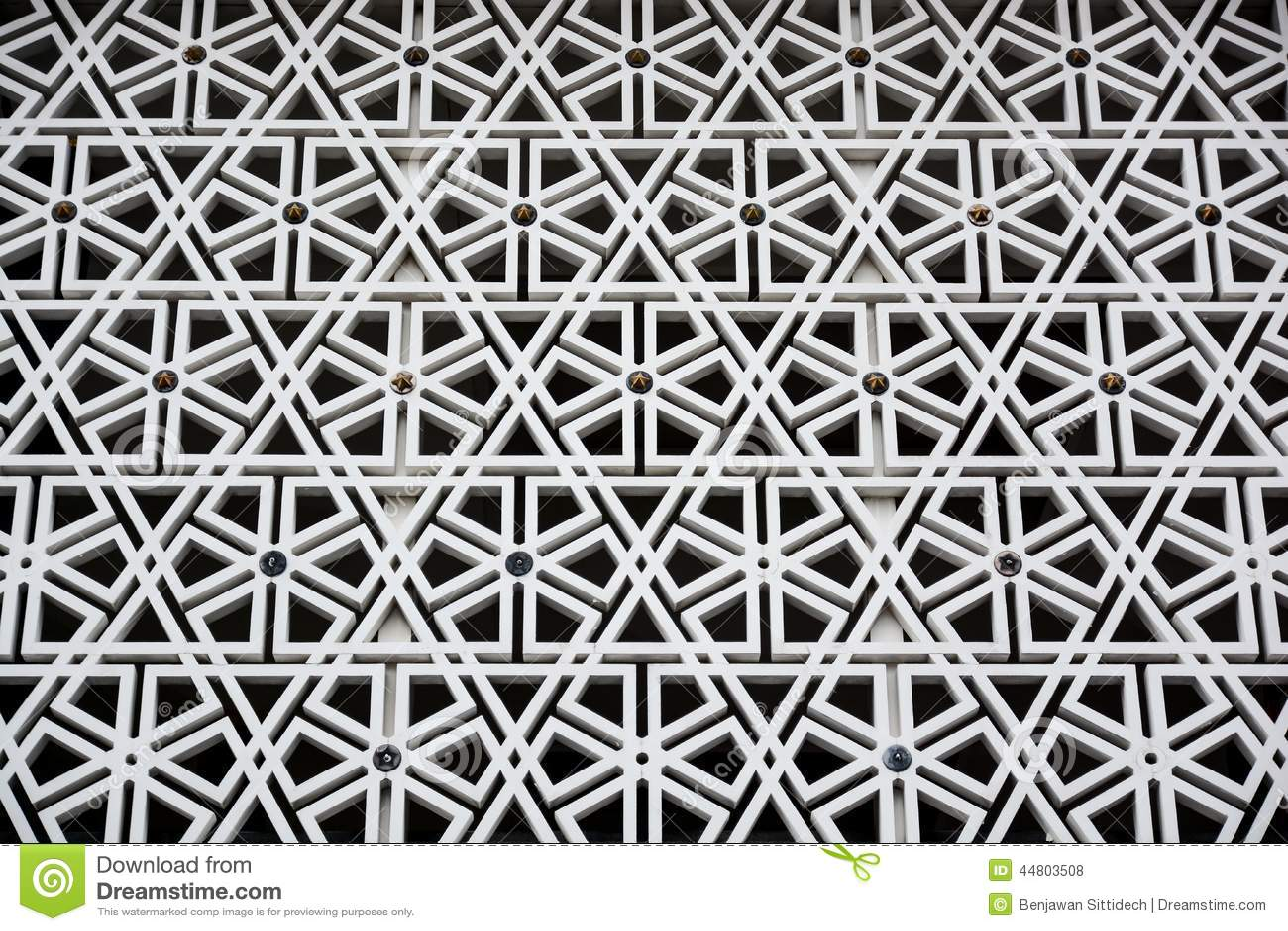 Islamic Pattern Stock Photo Image 44803508