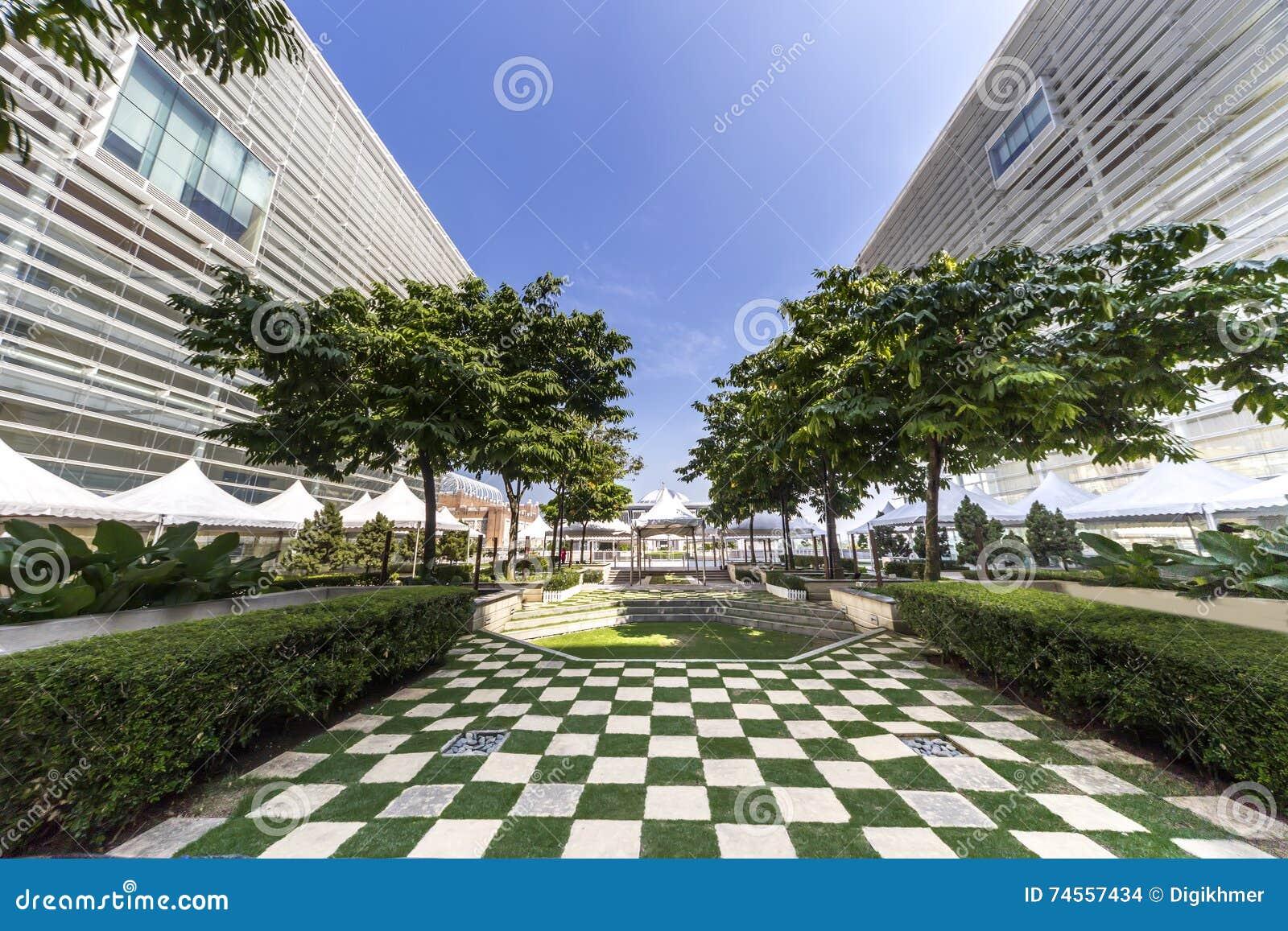 Islamic Public Garden Design